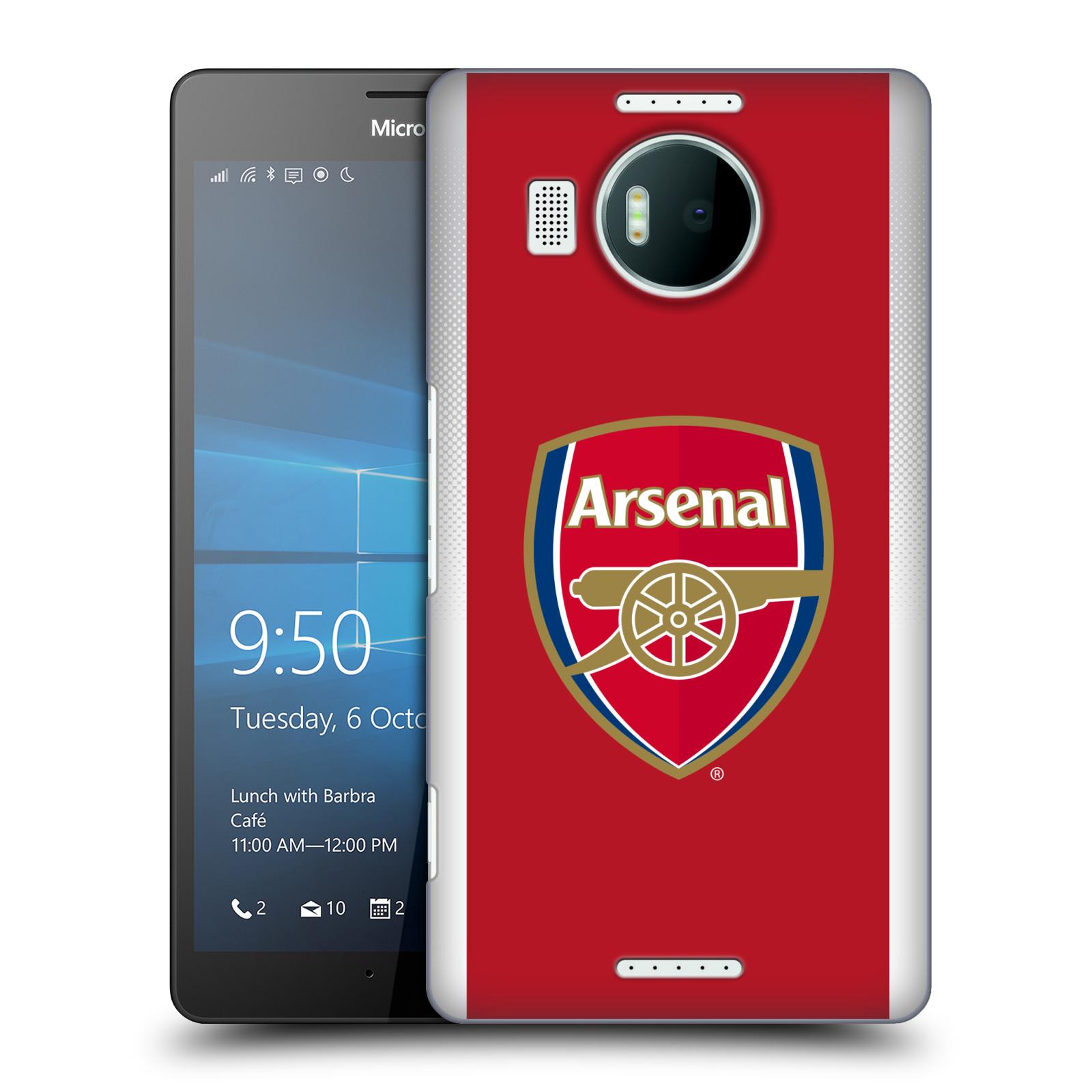 Plastové pouzdro na mobil Microsoft Lumia 950 XL - Head Case - Arsenal FC - Logo klubu