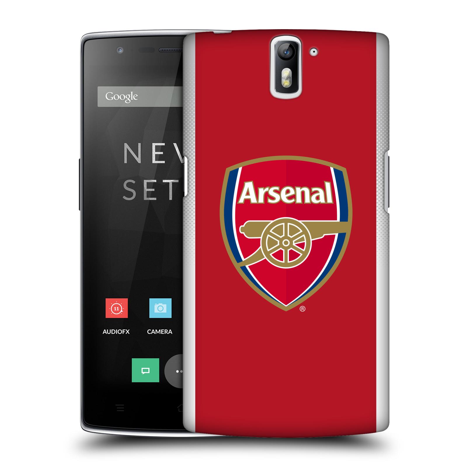 Plastové pouzdro na mobil OnePlus One - Head Case - Arsenal FC - Logo klubu