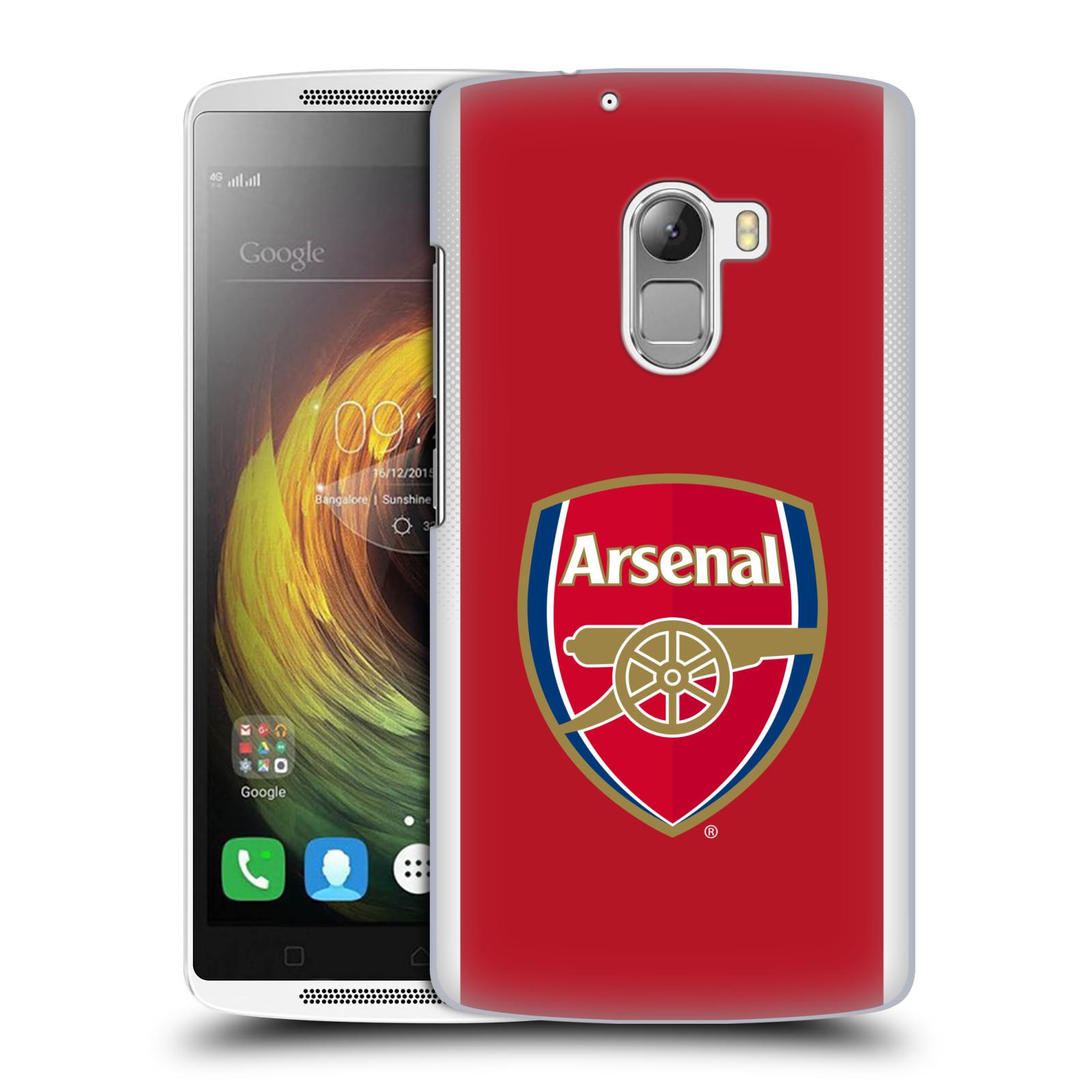 Plastové pouzdro na mobil Lenovo A7010 - Head Case - Arsenal FC - Logo klubu
