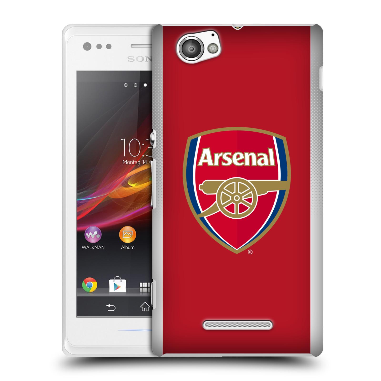 Plastové pouzdro na mobil Sony Xperia M C1905 - Head Case - Arsenal FC - Logo klubu