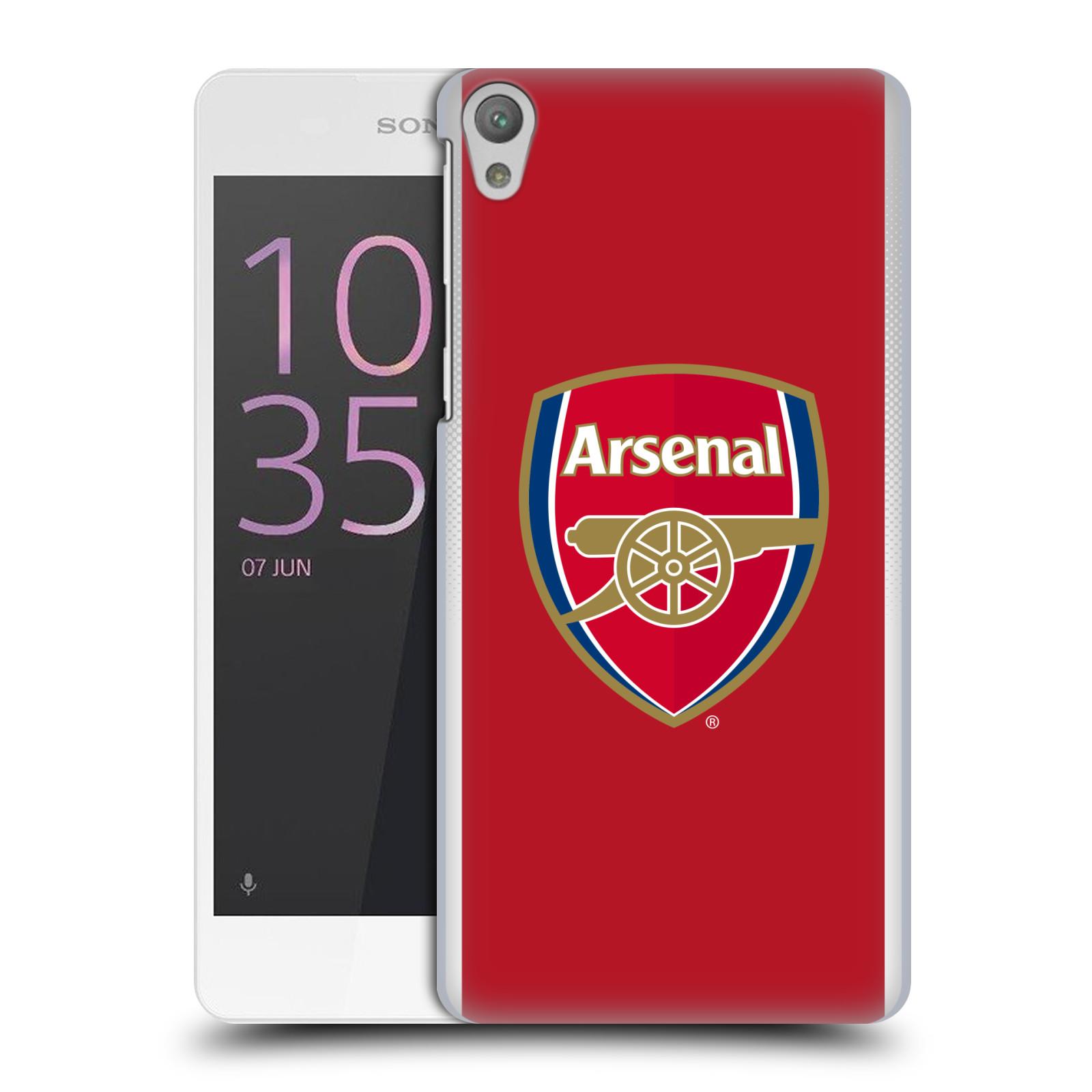 Plastové pouzdro na mobil Sony Xperia E5 - Head Case - Arsenal FC - Logo klubu