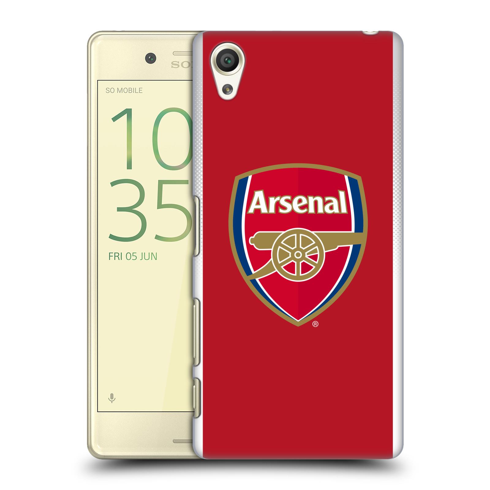 Plastové pouzdro na mobil Sony Xperia X - Head Case - Arsenal FC - Logo klubu