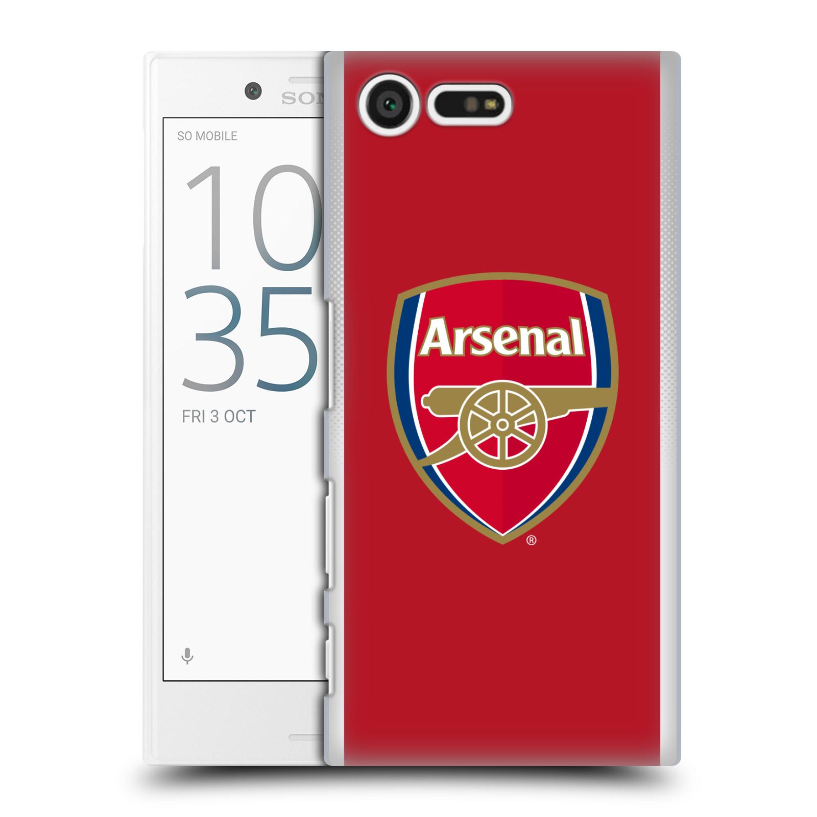 Plastové pouzdro na mobil Sony Xperia X Compact - Head Case - Arsenal FC - Logo klubu