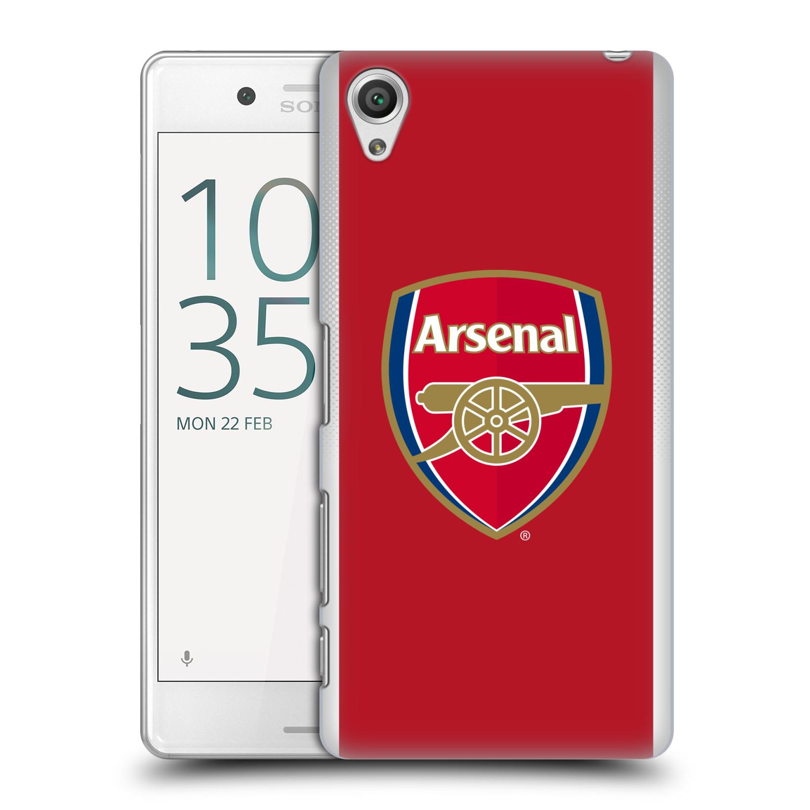 Plastové pouzdro na mobil Sony Xperia X Performance - Head Case - Arsenal FC - Logo klubu