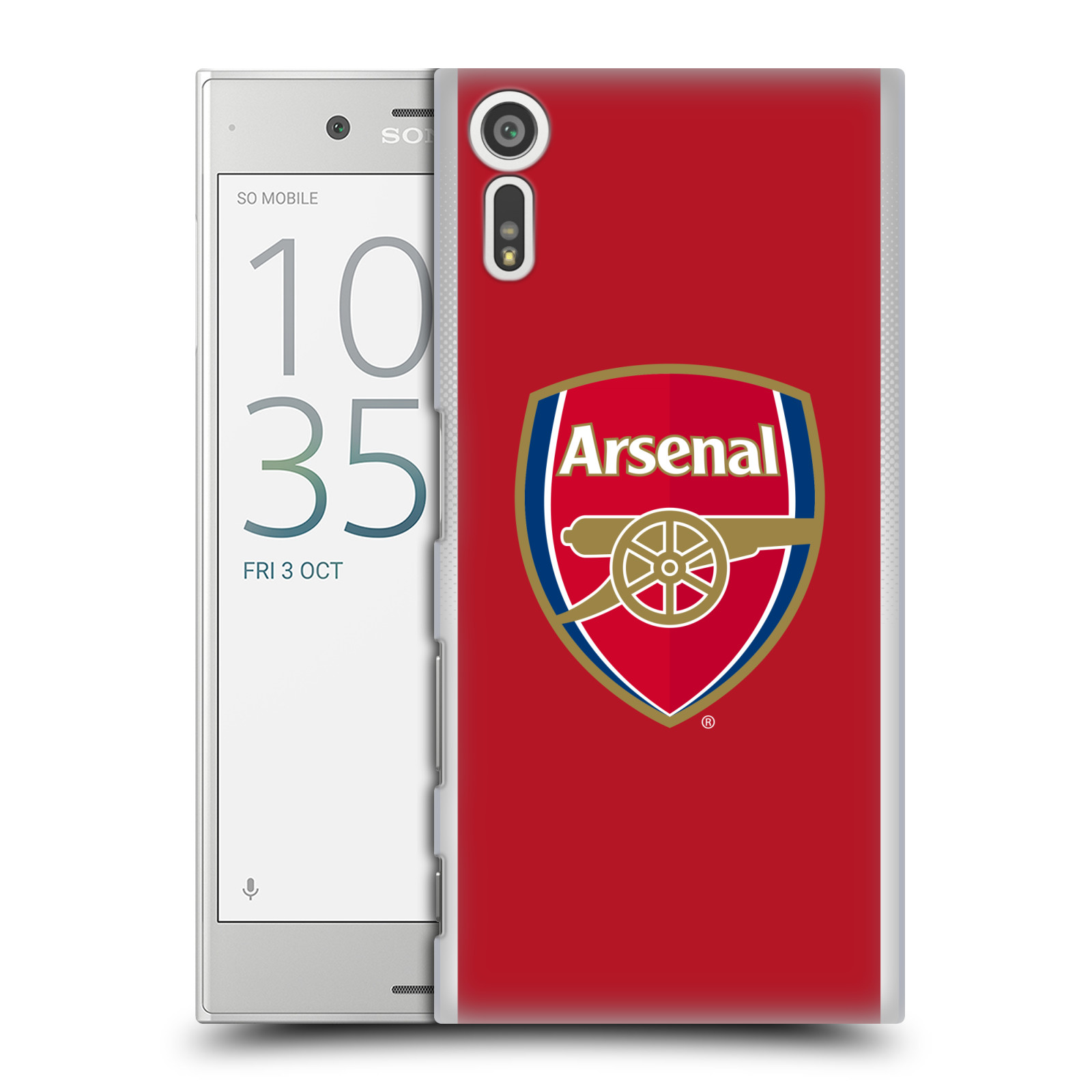 Plastové pouzdro na mobil Sony Xperia XZ - Head Case - Arsenal FC - Logo klubu