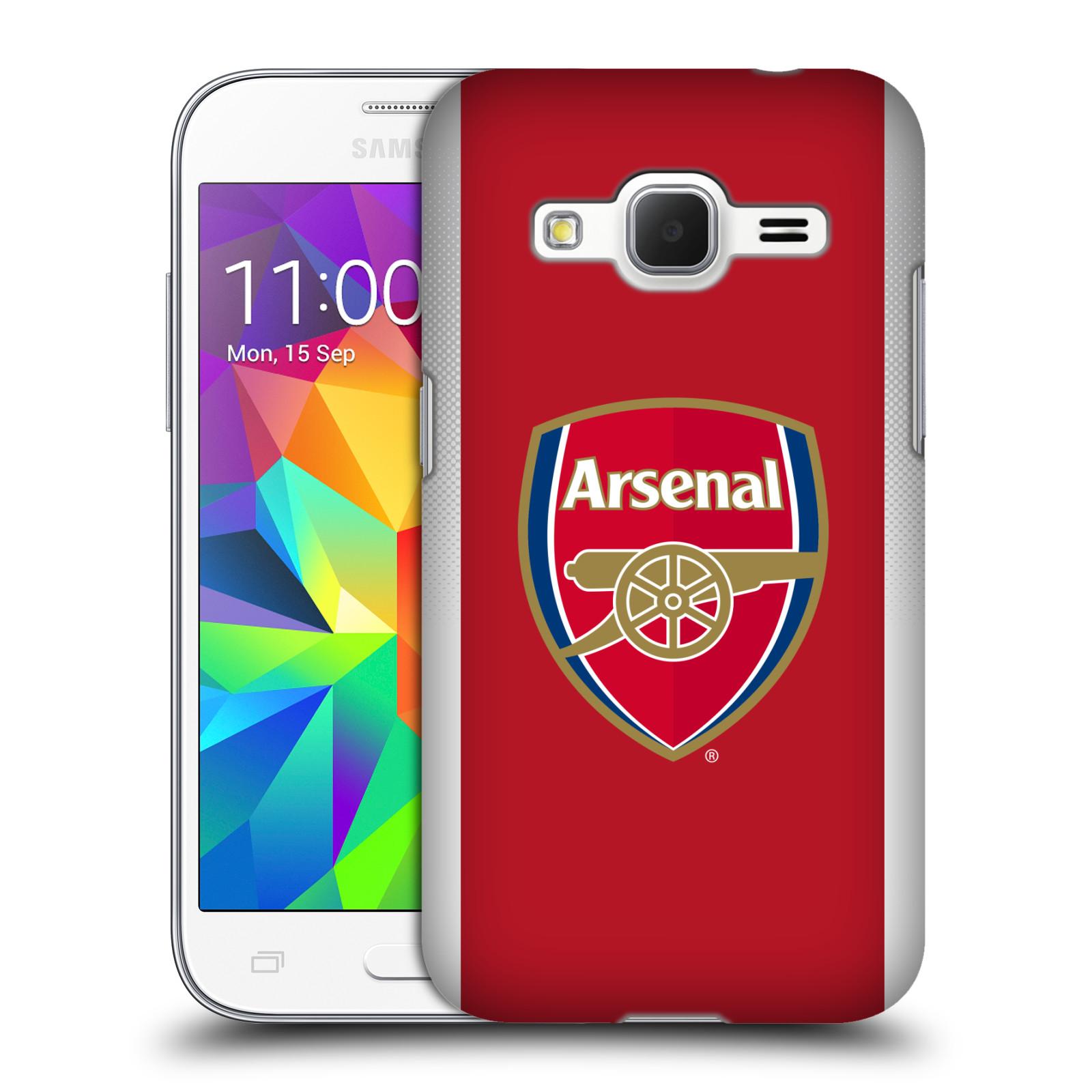 Plastové pouzdro na mobil Samsung Galaxy Core Prime LTE - Head Case - Arsenal FC - Logo klubu (Plastový kryt či obal na mobilní telefon s motivem klubu Arsenal FC - Logo klubu pro Samsung Galaxy Core Prime LTE SM-G360)