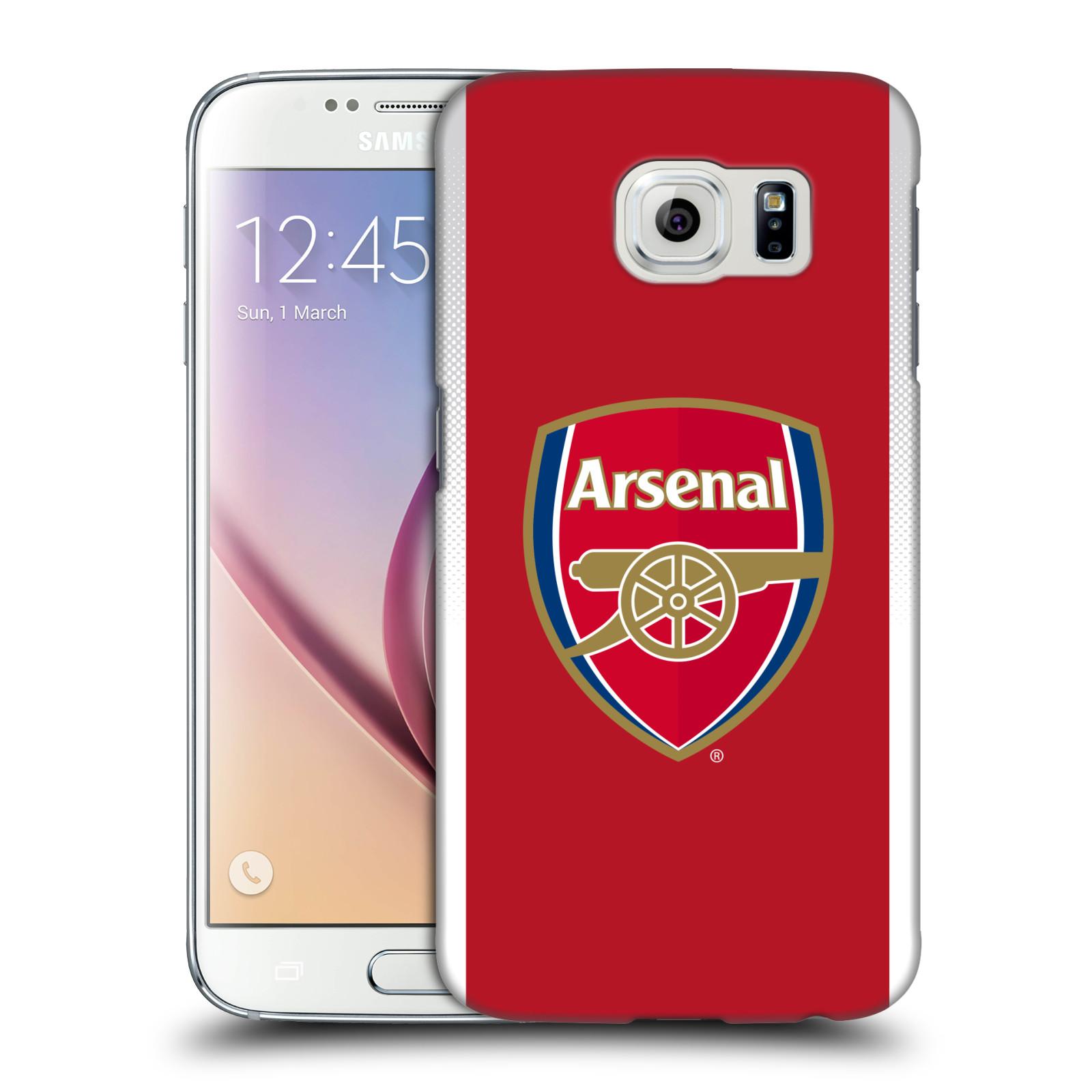 Plastové pouzdro na mobil Samsung Galaxy S6 - Head Case - Arsenal FC - Logo klubu