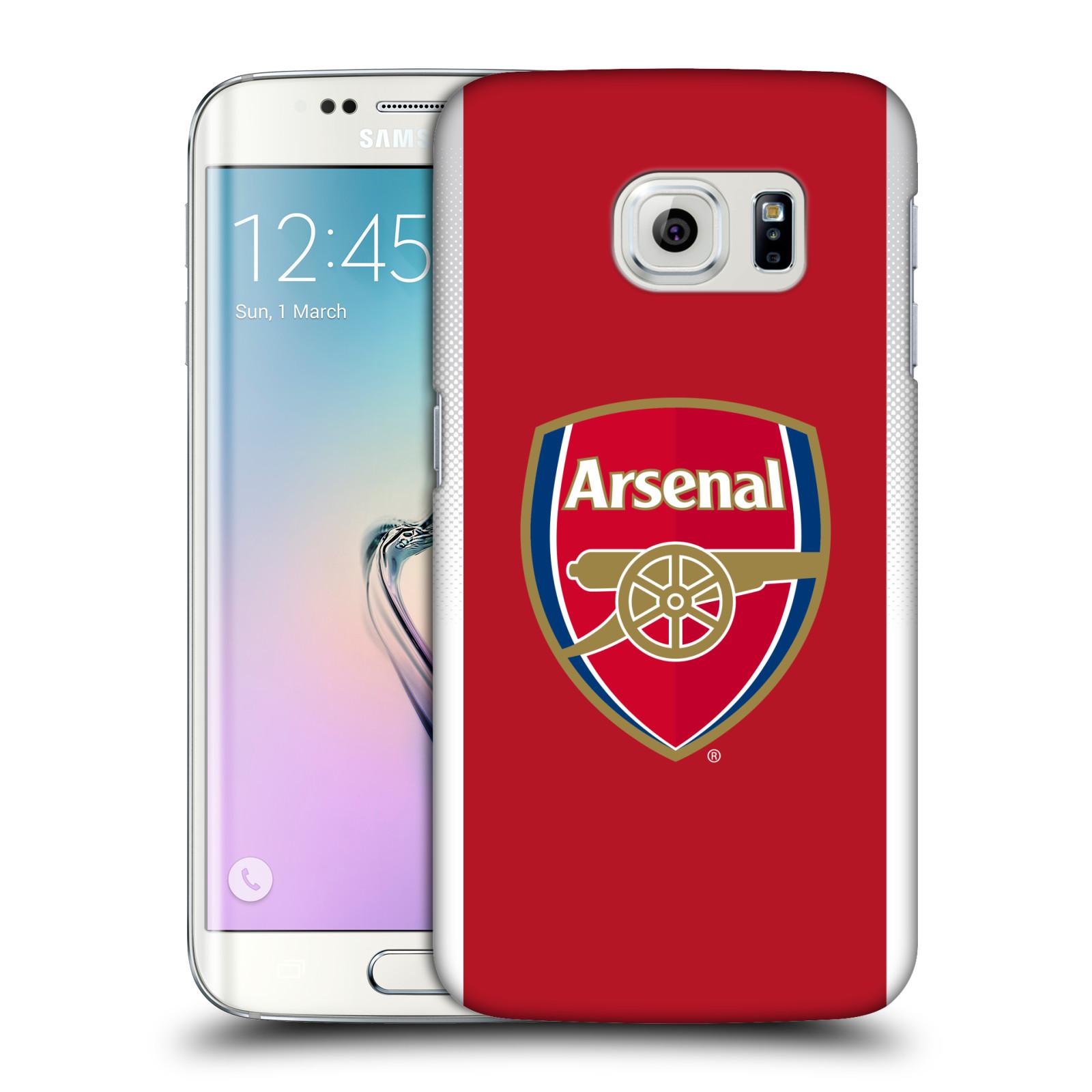 Plastové pouzdro na mobil Samsung Galaxy S6 Edge - Head Case - Arsenal FC - Logo klubu