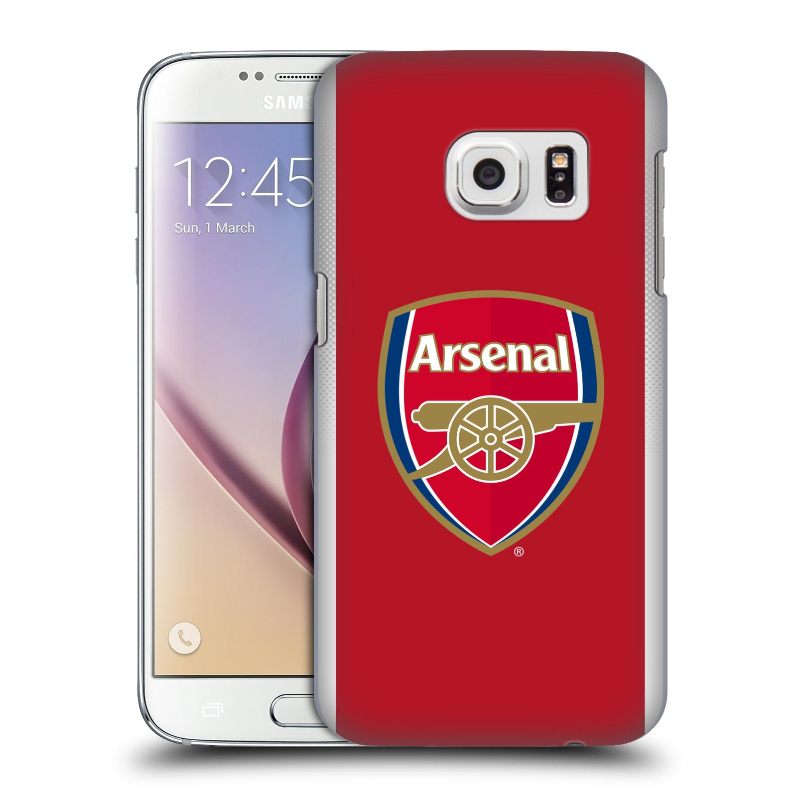 Plastové pouzdro na mobil Samsung Galaxy S7 - Head Case - Arsenal FC - Logo klubu
