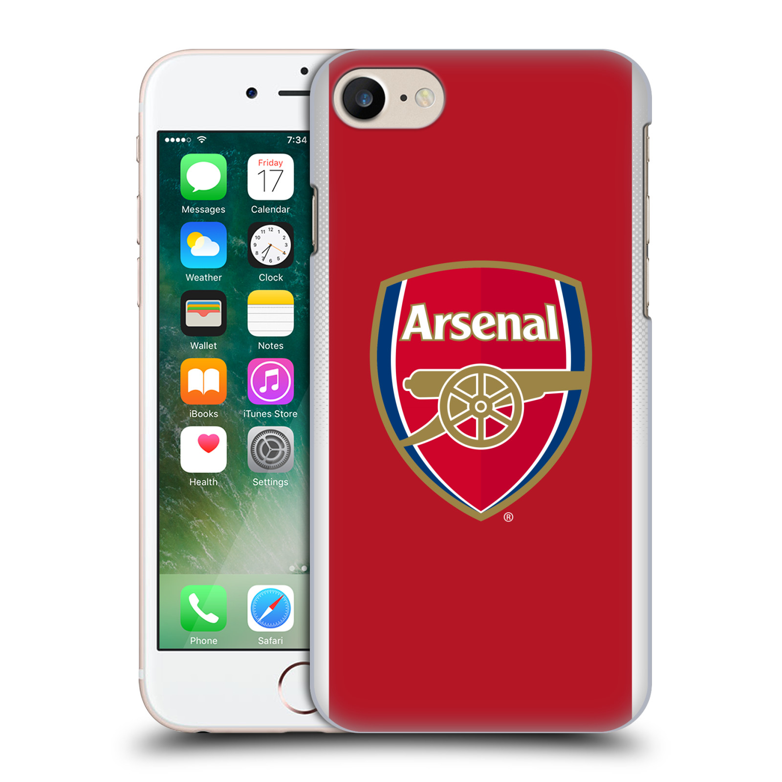 Plastové pouzdro na mobil Apple iPhone 7 - Head Case - Arsenal FC - Logo klubu