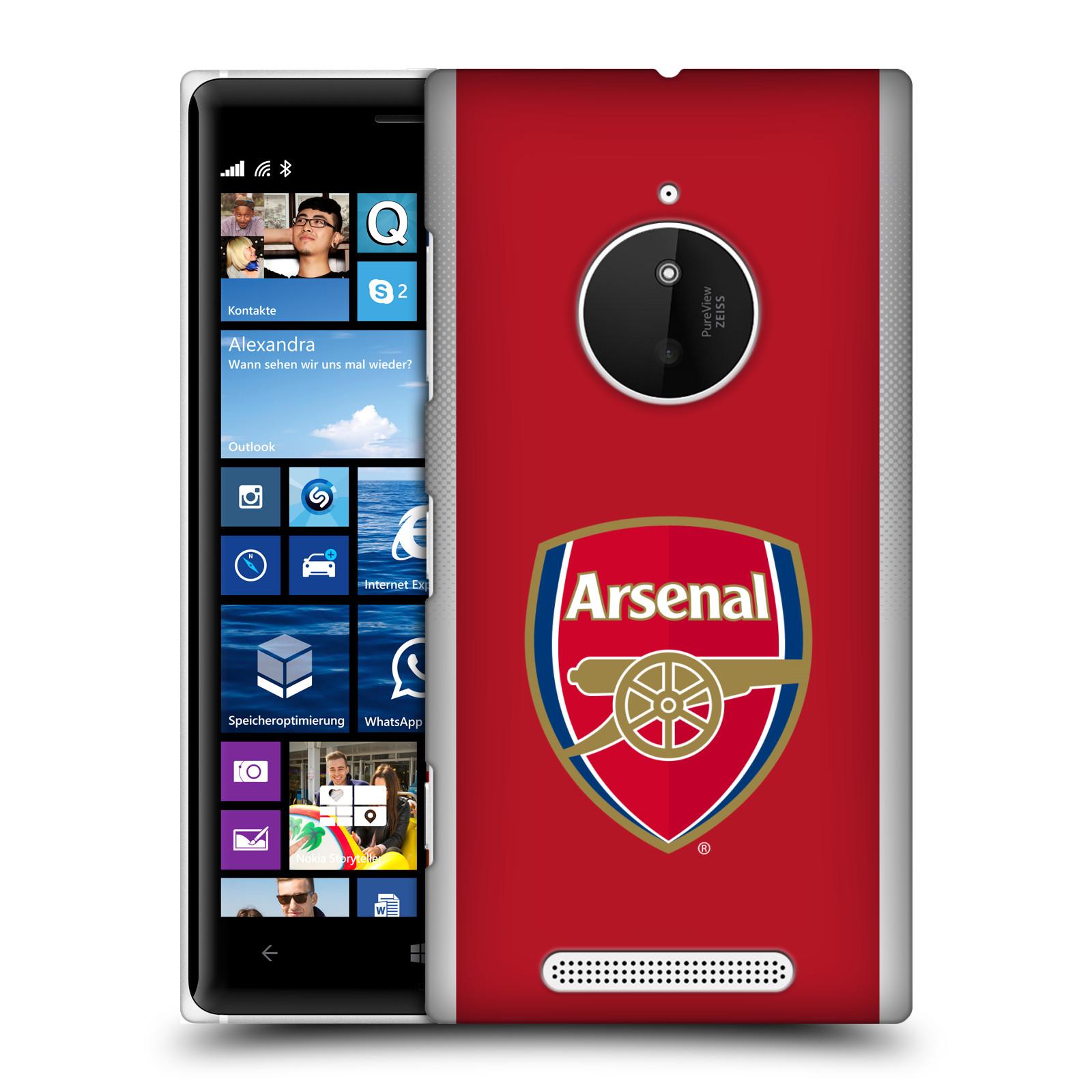 Plastové pouzdro na mobil Nokia Lumia 830 - Head Case - Arsenal FC - Logo klubu