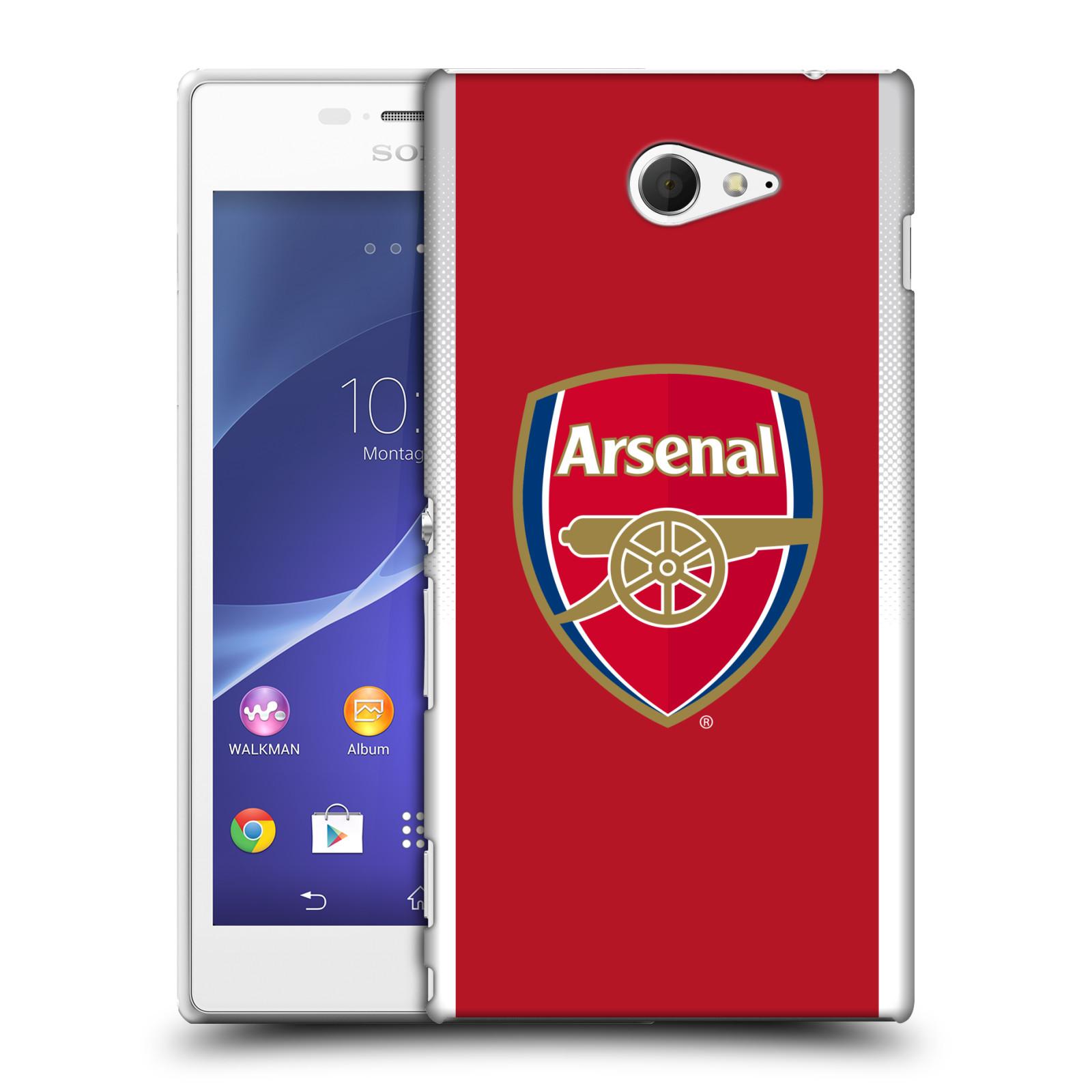 Plastové pouzdro na mobil Sony Xperia M2 D2303 - Head Case - Arsenal FC - Logo klubu