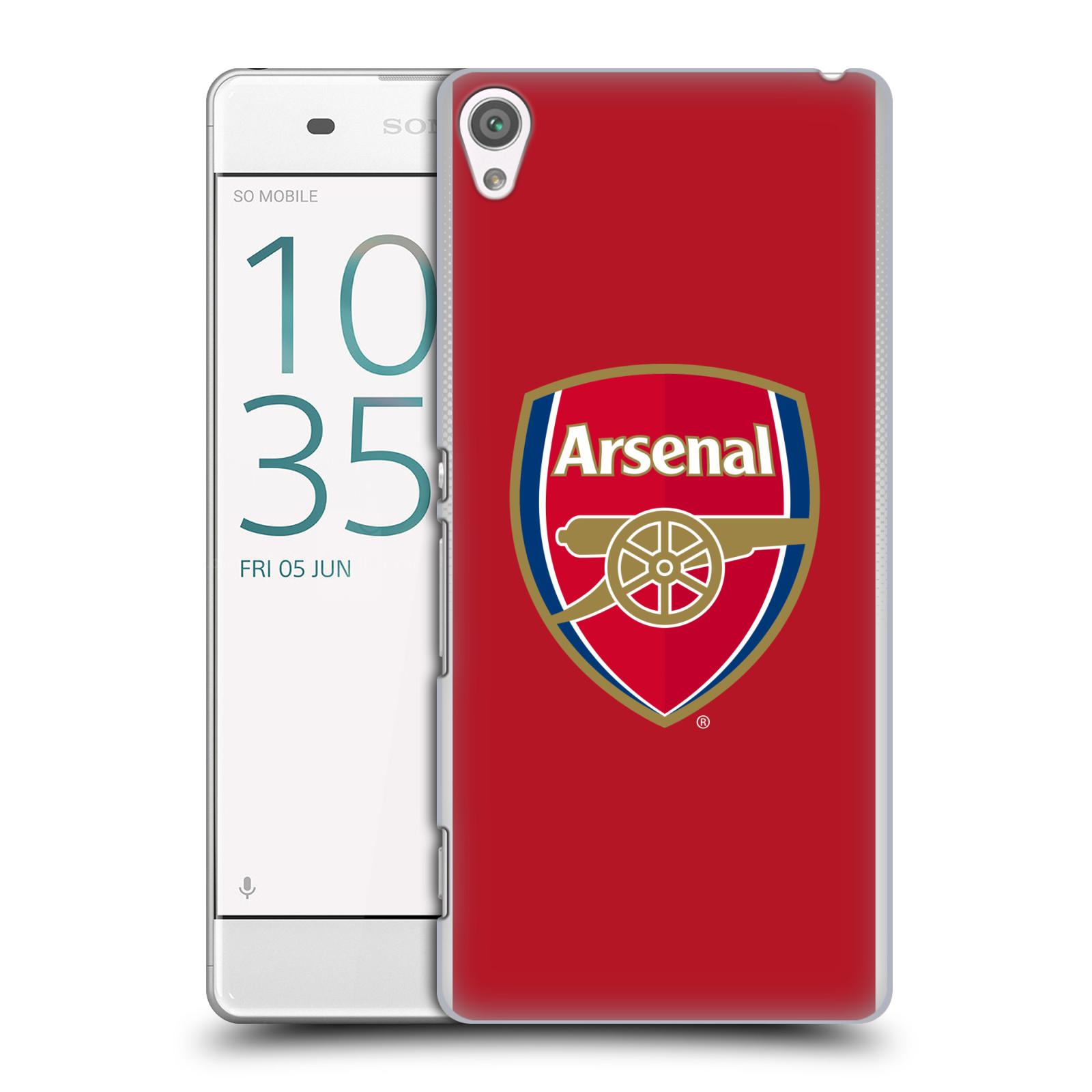 Plastové pouzdro na mobil Sony Xperia XA - Head Case - Arsenal FC - Logo klubu