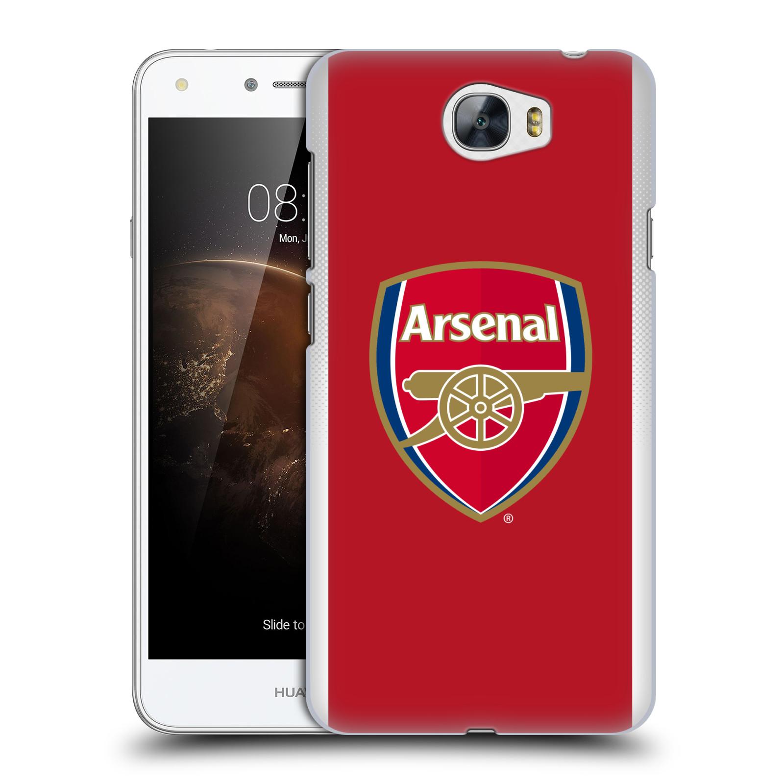 Plastové pouzdro na mobil Huawei Y5 II - Head Case - Arsenal FC - Logo klubu