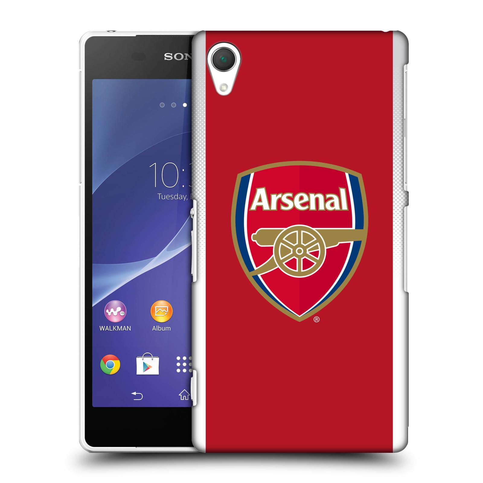 Plastové pouzdro na mobil Sony Xperia Z2 D6503 - Head Case - Arsenal FC - Logo klubu