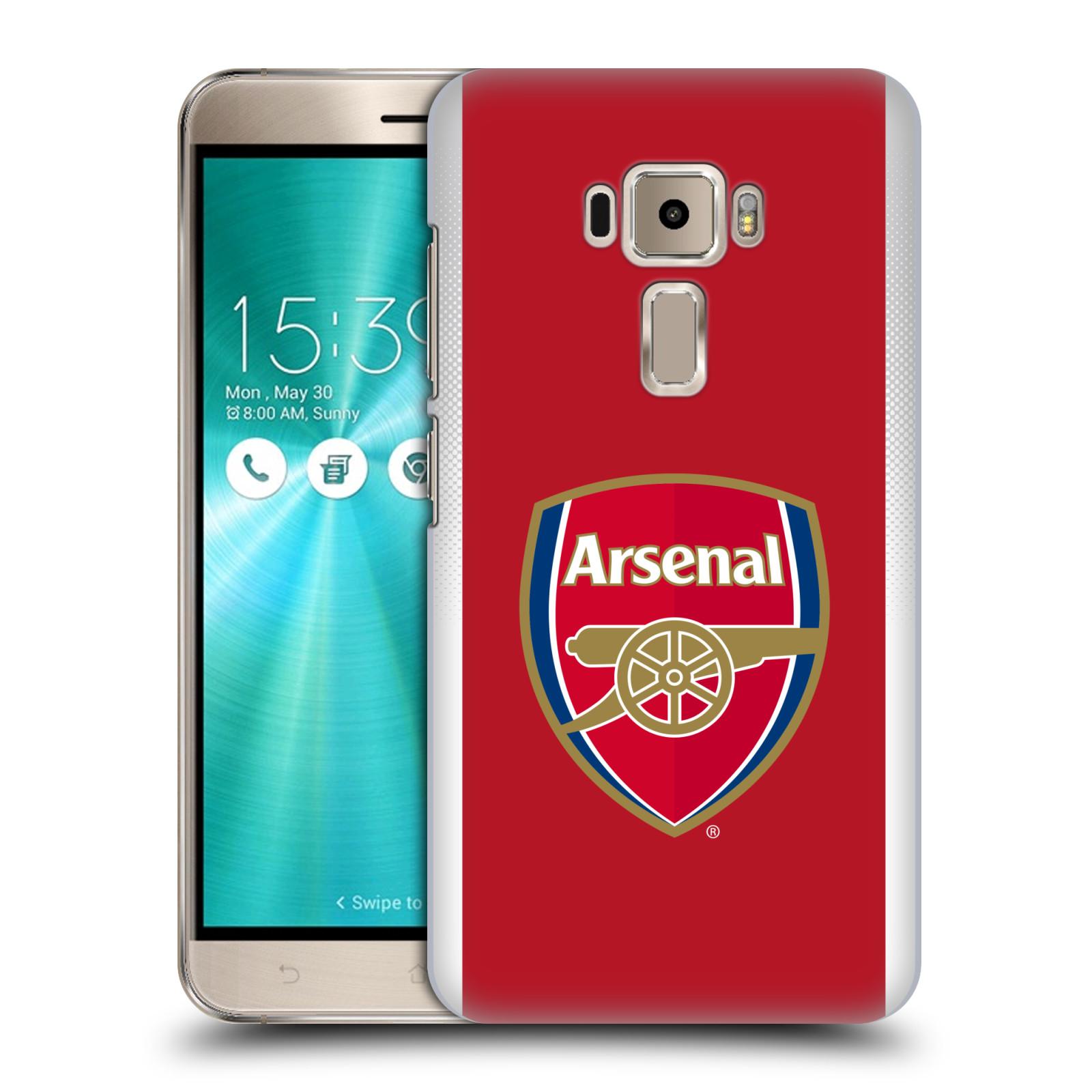 Plastové pouzdro na mobil Asus ZenFone 3 ZE520KL - Head Case - Arsenal FC - Logo klubu