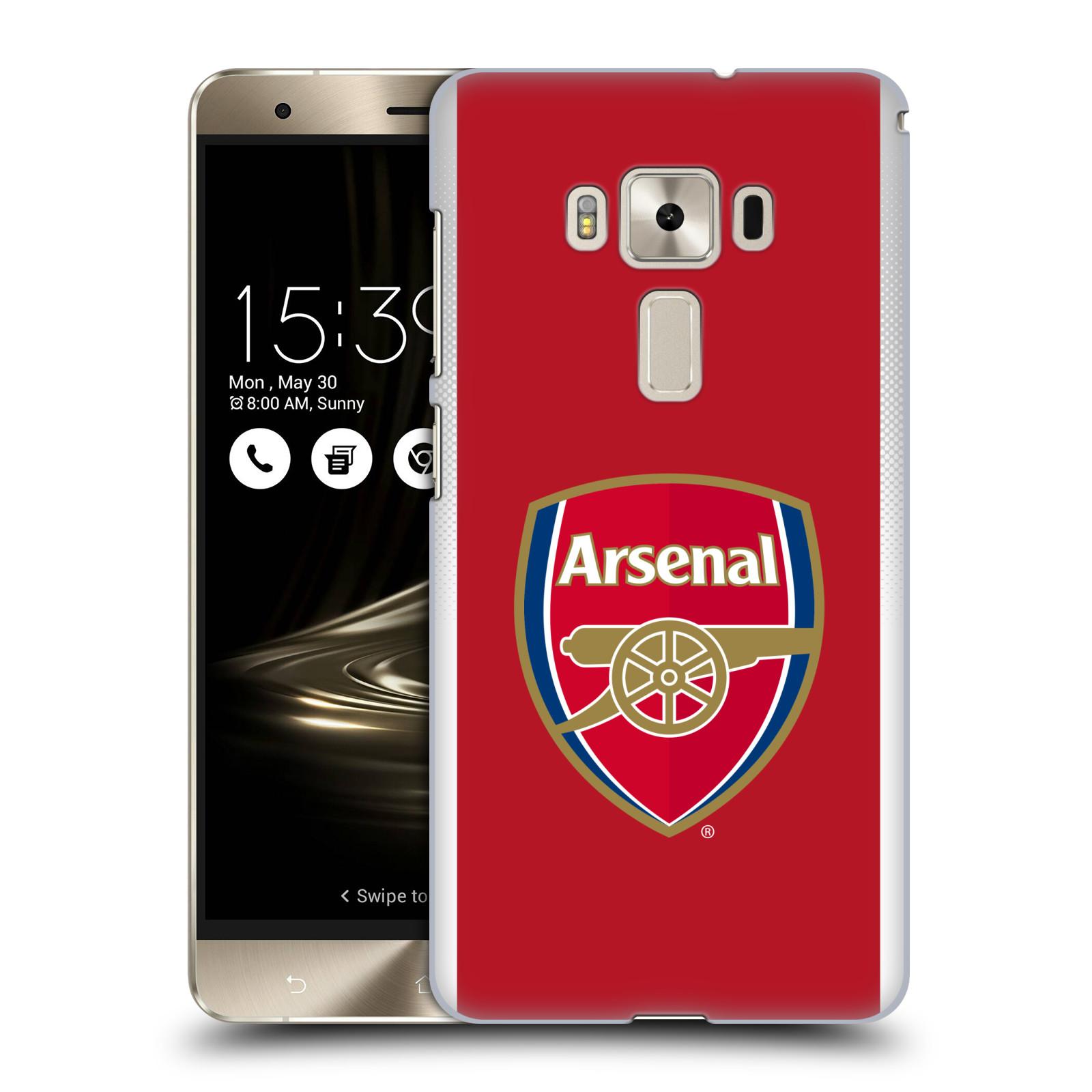 Plastové pouzdro na mobil Asus ZenFone 3 Deluxe ZS570KL - Head Case - Arsenal FC - Logo klubu