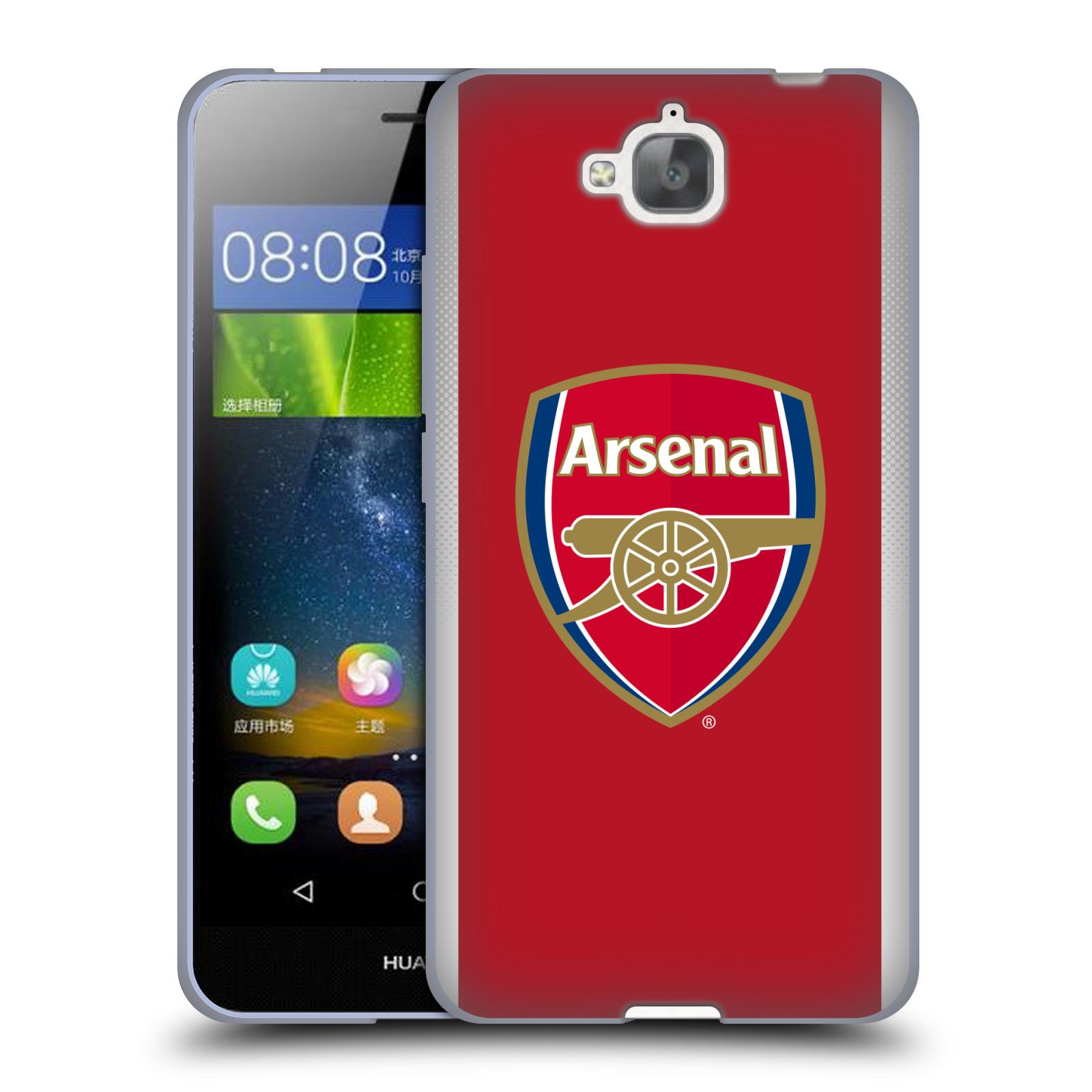 Silikonové pouzdro na mobil Huawei Y6 Pro Dual Sim - Head Case - Arsenal FC - Logo klubu