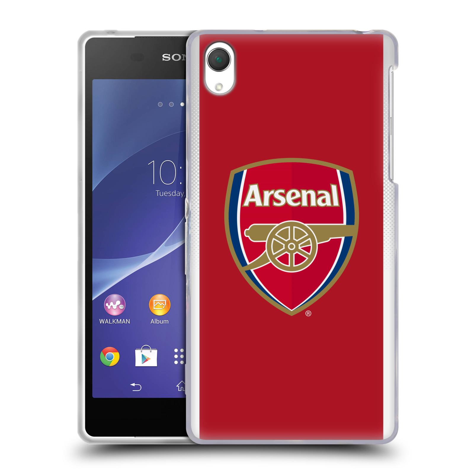 Silikonové pouzdro na mobil Sony Xperia Z2 D6503 - Head Case - Arsenal FC - Logo klubu