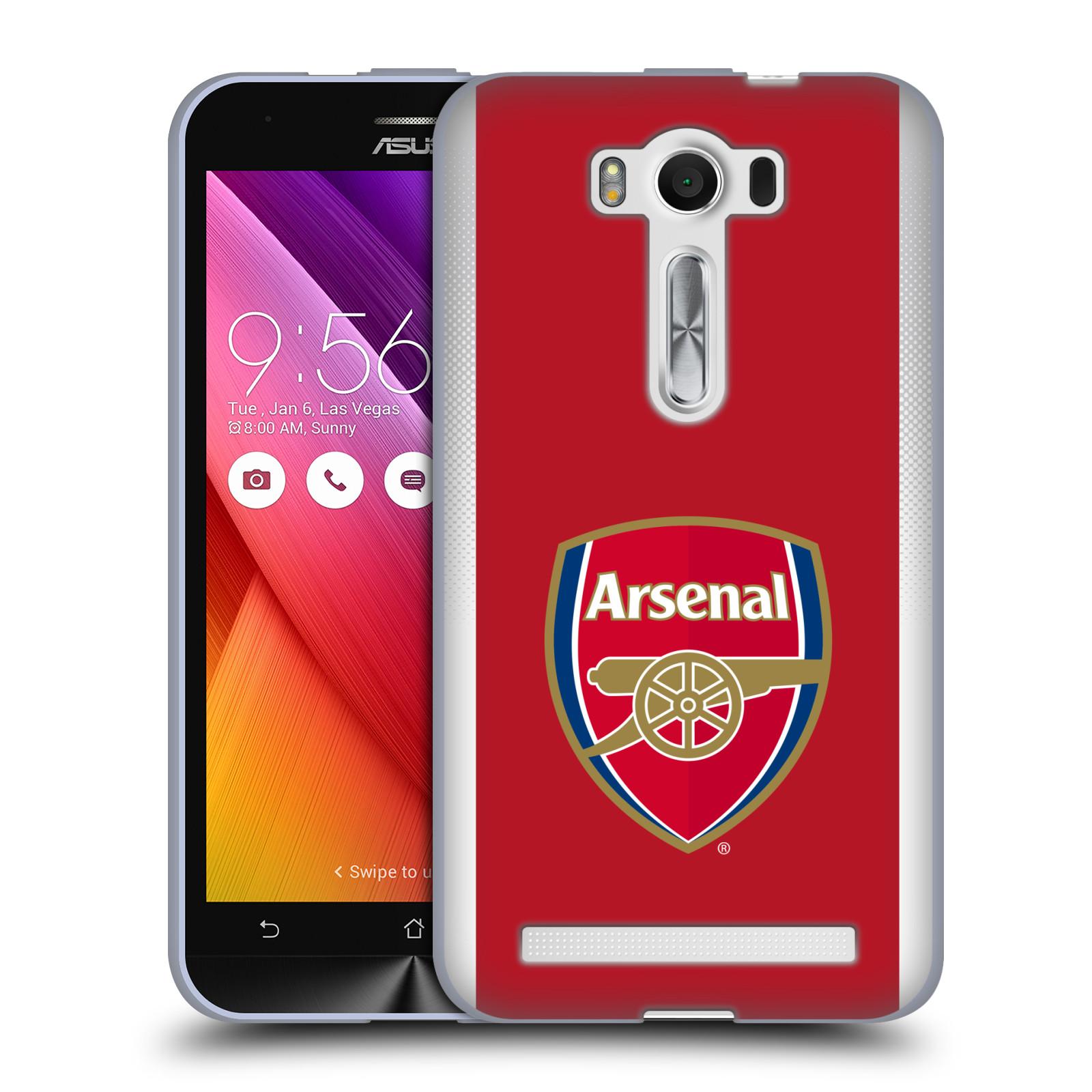 Silikonové pouzdro na mobil Asus ZenFone 2 Laser ZE500KL - Head Case - Arsenal FC - Logo klubu