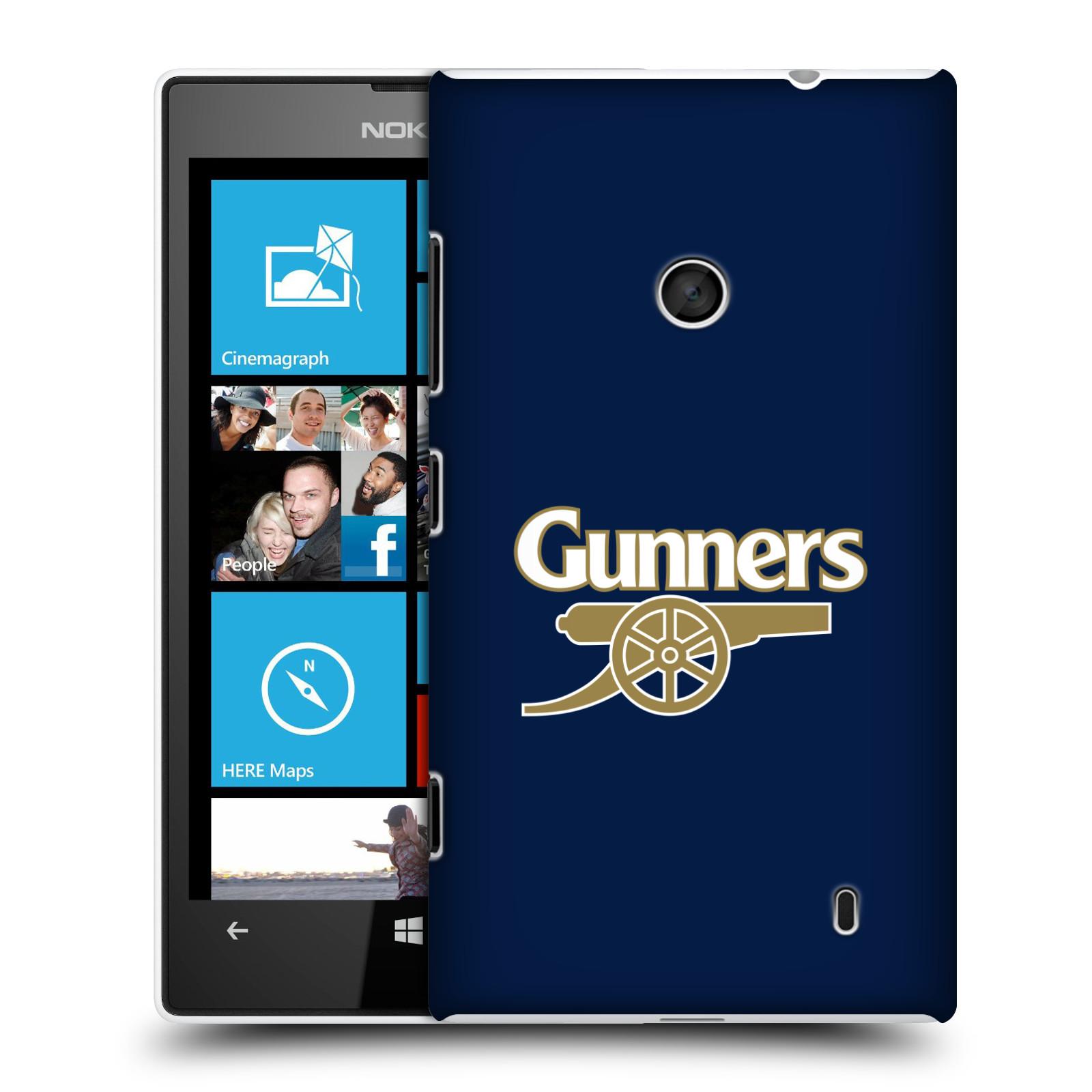 Plastové pouzdro na mobil Nokia Lumia 520 - Head Case - Arsenal FC - Gunners