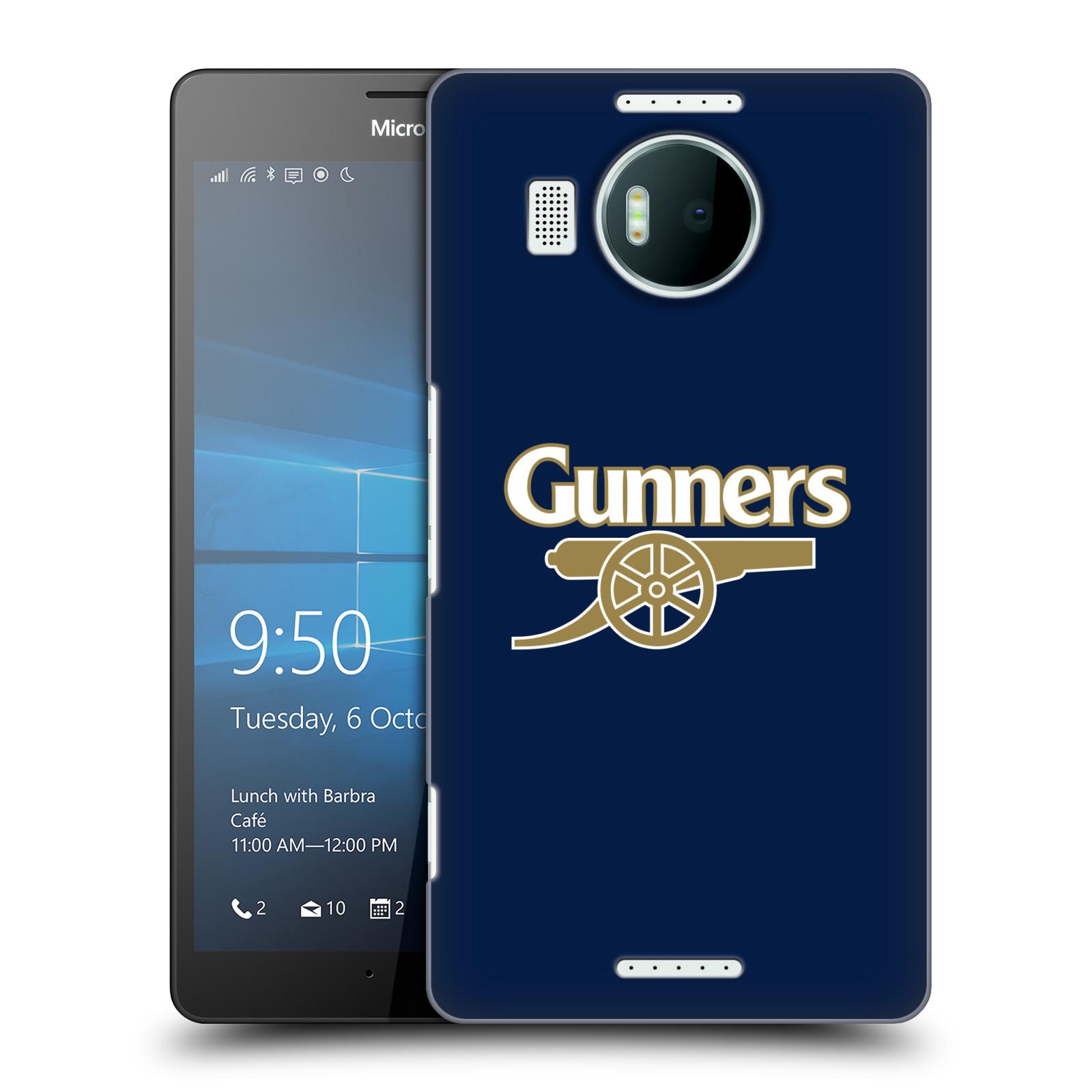 Plastové pouzdro na mobil Microsoft Lumia 950 XL - Head Case - Arsenal FC - Gunners