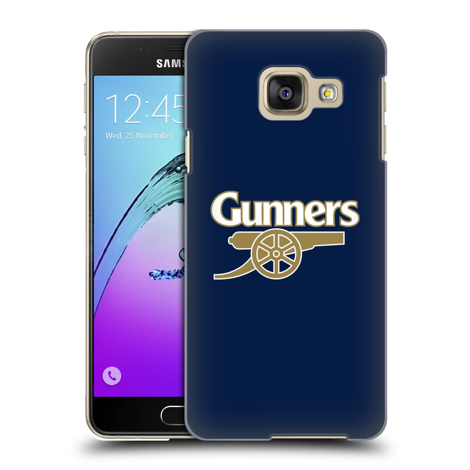 Plastové pouzdro na mobil Samsung Galaxy A3 (2016) - Head Case - Arsenal FC - Gunners