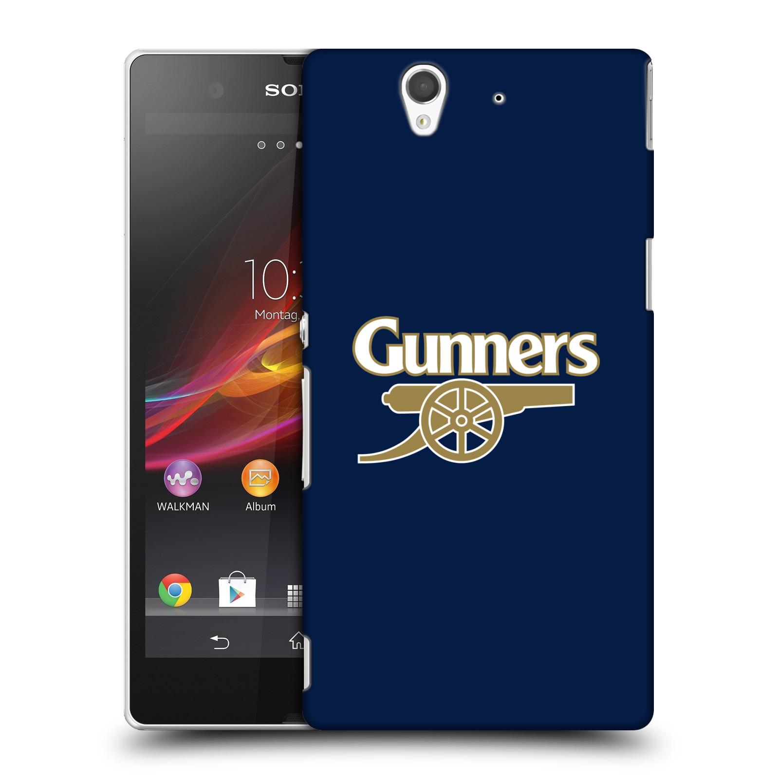 Plastové pouzdro na mobil Sony Xperia Z C6603 - Head Case - Arsenal FC - Gunners