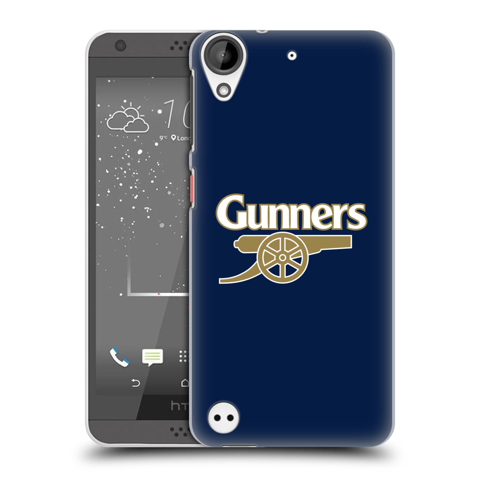 Plastové pouzdro na mobil HTC Desire 530 - Head Case - Arsenal FC - Gunners