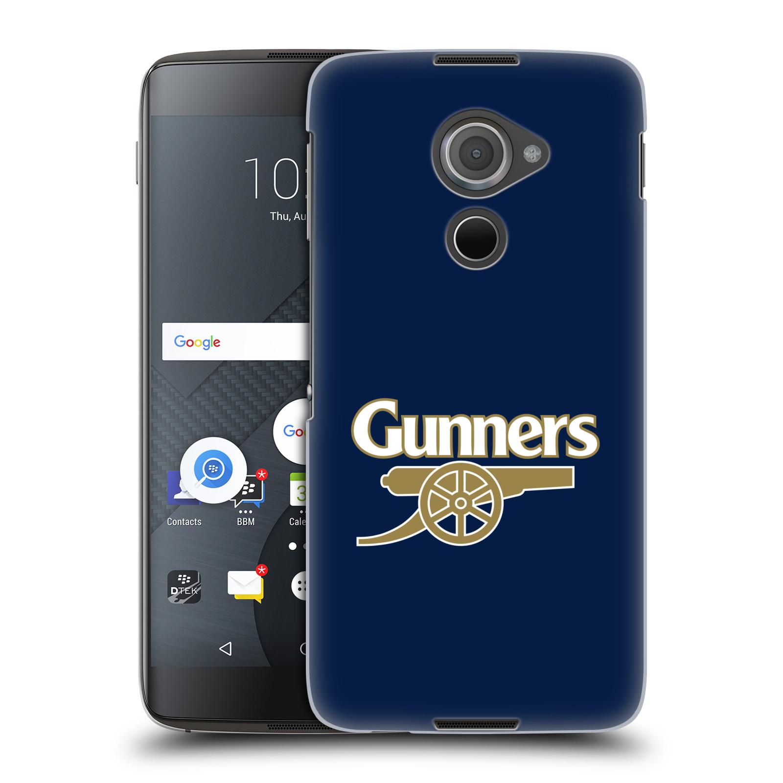 Plastové pouzdro na mobil Blackberry DTEK60 (Argon) - Head Case - Arsenal FC - Gunners