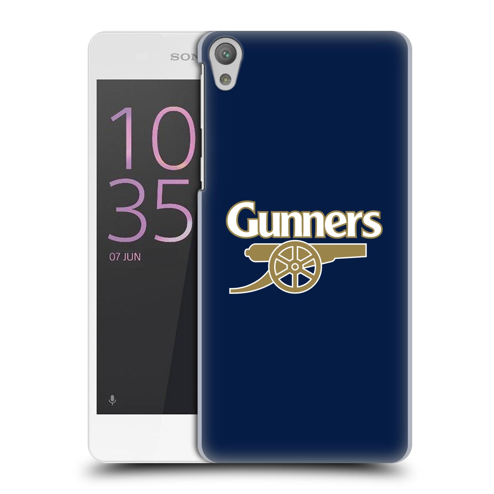 Plastové pouzdro na mobil Sony Xperia E5 - Head Case - Arsenal FC - Gunners