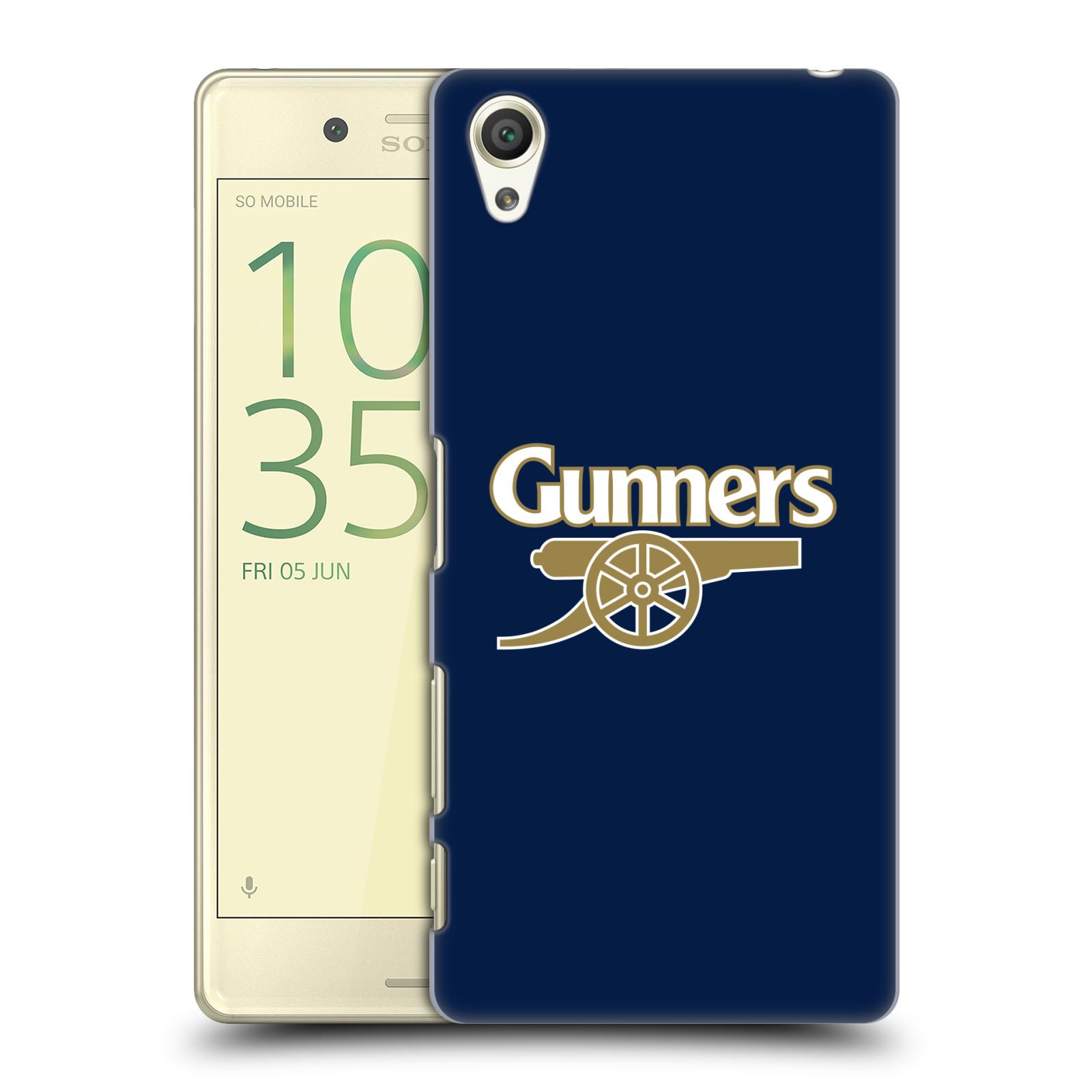 Plastové pouzdro na mobil Sony Xperia X - Head Case - Arsenal FC - Gunners
