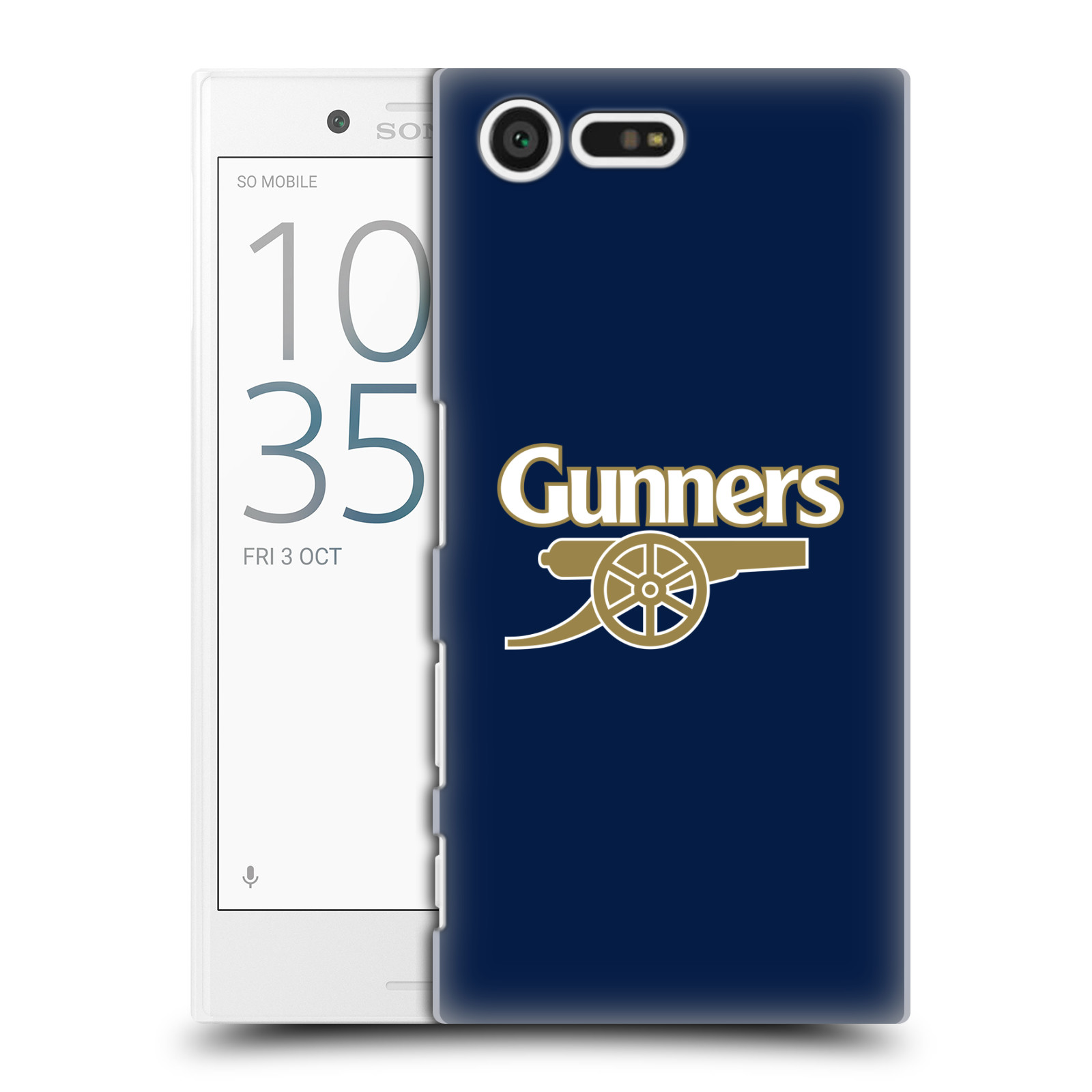 Plastové pouzdro na mobil Sony Xperia X Compact - Head Case - Arsenal FC - Gunners