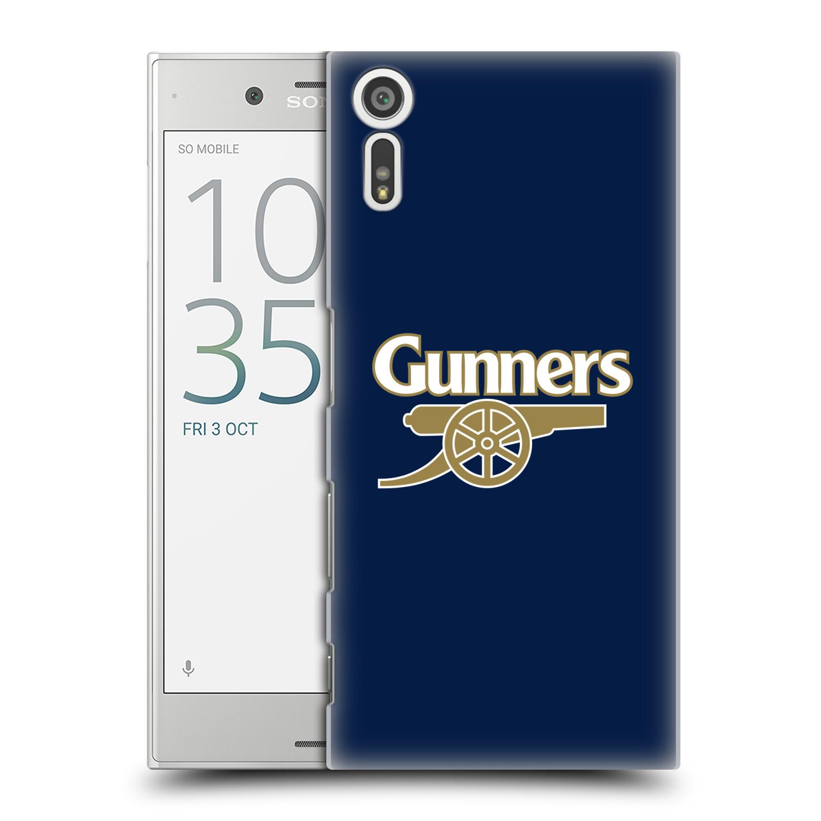 Plastové pouzdro na mobil Sony Xperia XZ - Head Case - Arsenal FC - Gunners