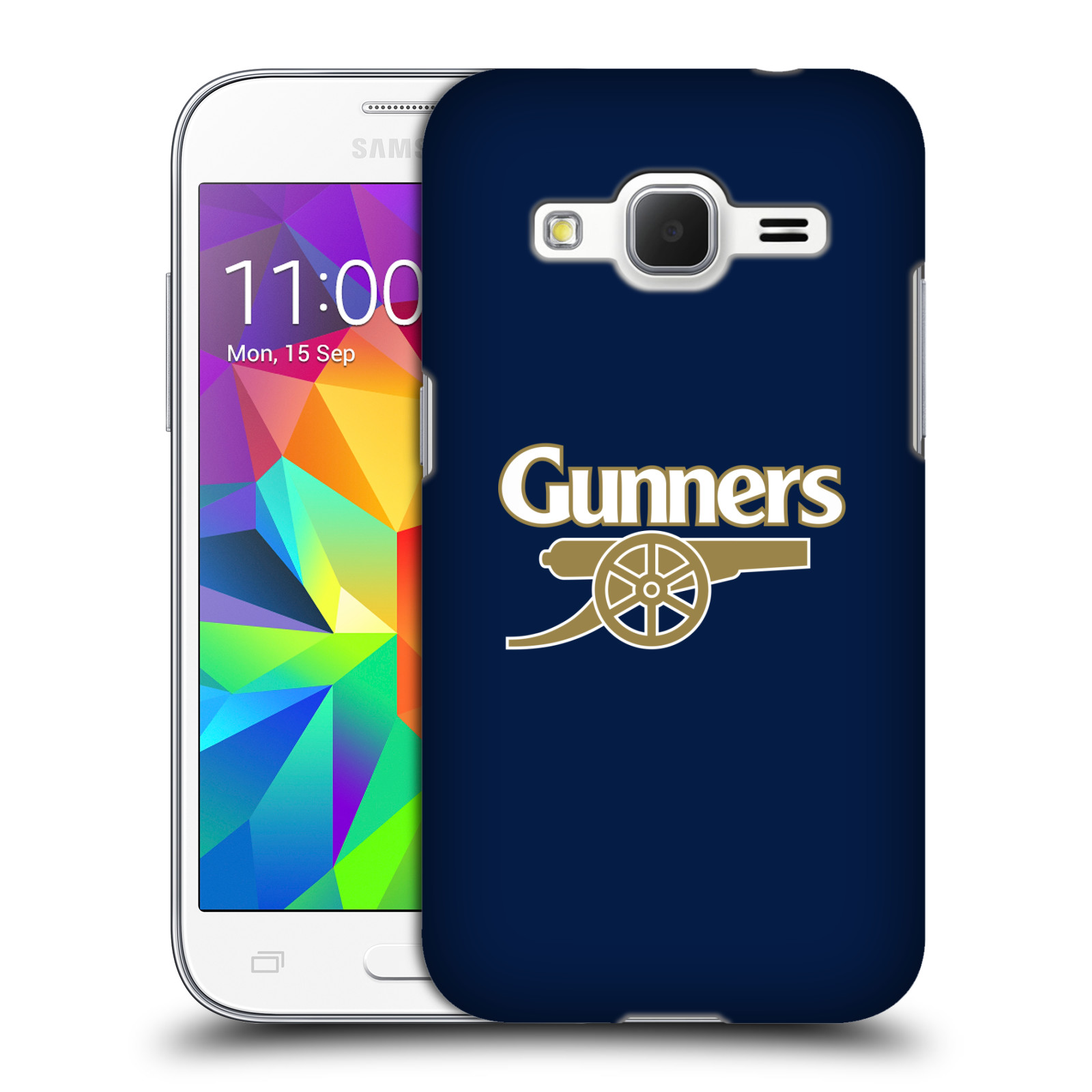 Plastové pouzdro na mobil Samsung Galaxy Core Prime LTE - Head Case - Arsenal FC - Gunners (Plastový kryt či obal na mobilní telefon s motivem klubu Arsenal FC - Gunners pro Samsung Galaxy Core Prime LTE SM-G360)