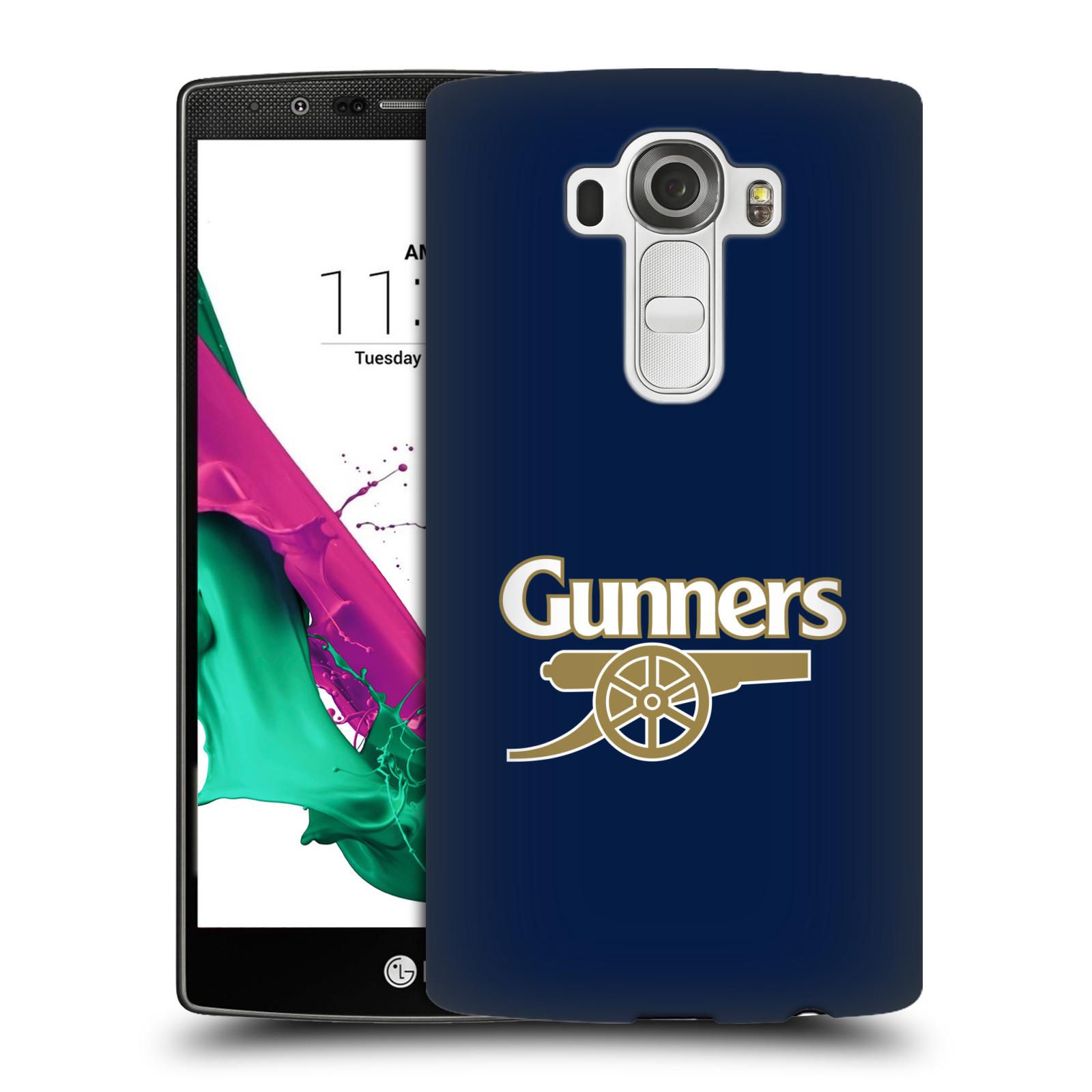 Plastové pouzdro na mobil LG G4 - Head Case - Arsenal FC - Gunners