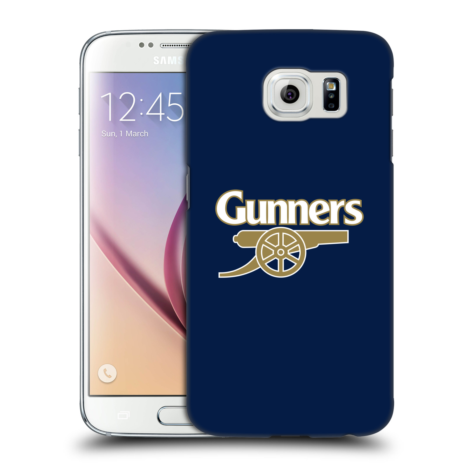 Plastové pouzdro na mobil Samsung Galaxy S6 - Head Case - Arsenal FC - Gunners