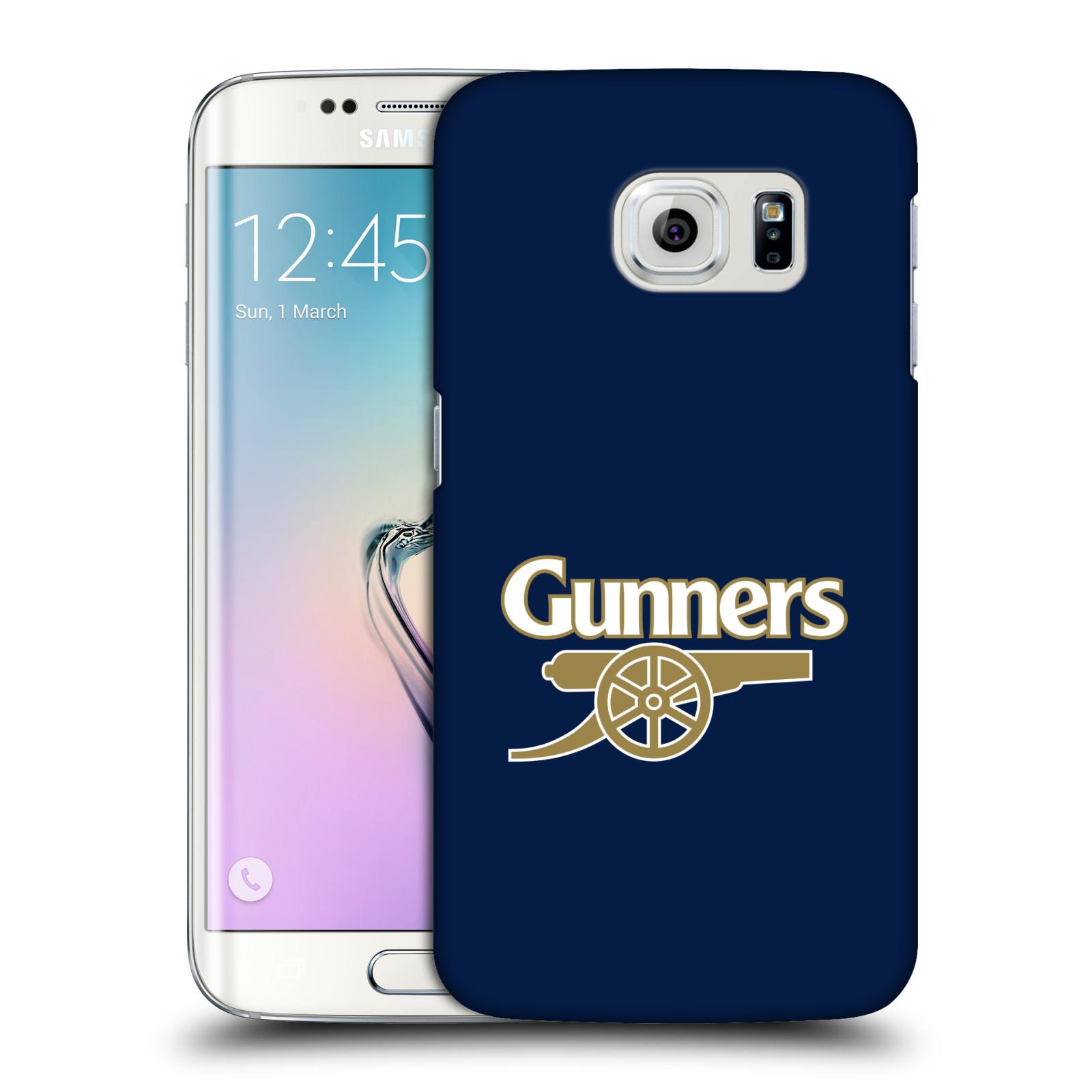 Plastové pouzdro na mobil Samsung Galaxy S6 Edge - Head Case - Arsenal FC - Gunners
