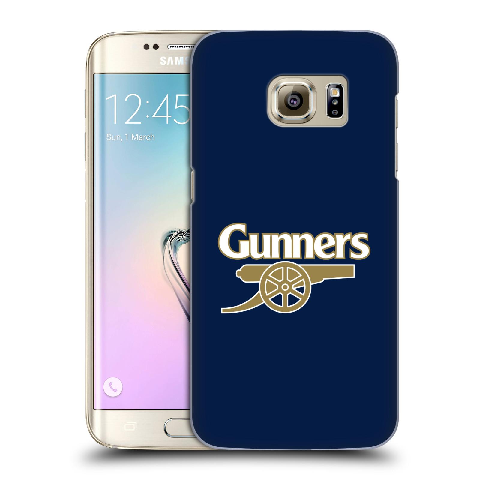 Plastové pouzdro na mobil Samsung Galaxy S7 Edge - Head Case - Arsenal FC - Gunners