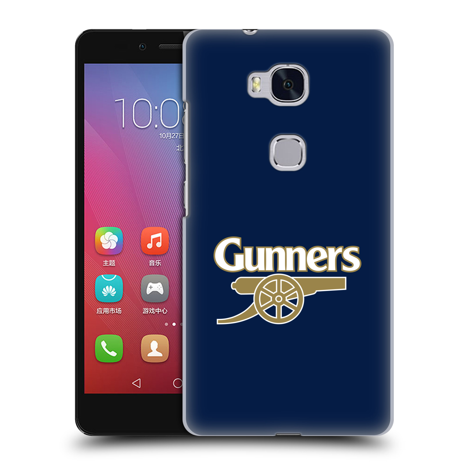 Plastové pouzdro na mobil Honor 5X - Head Case - Arsenal FC - Gunners