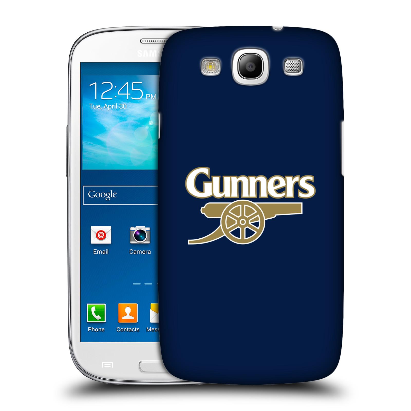 Plastové pouzdro na mobil Samsung Galaxy S III - Head Case - Arsenal FC - Gunners