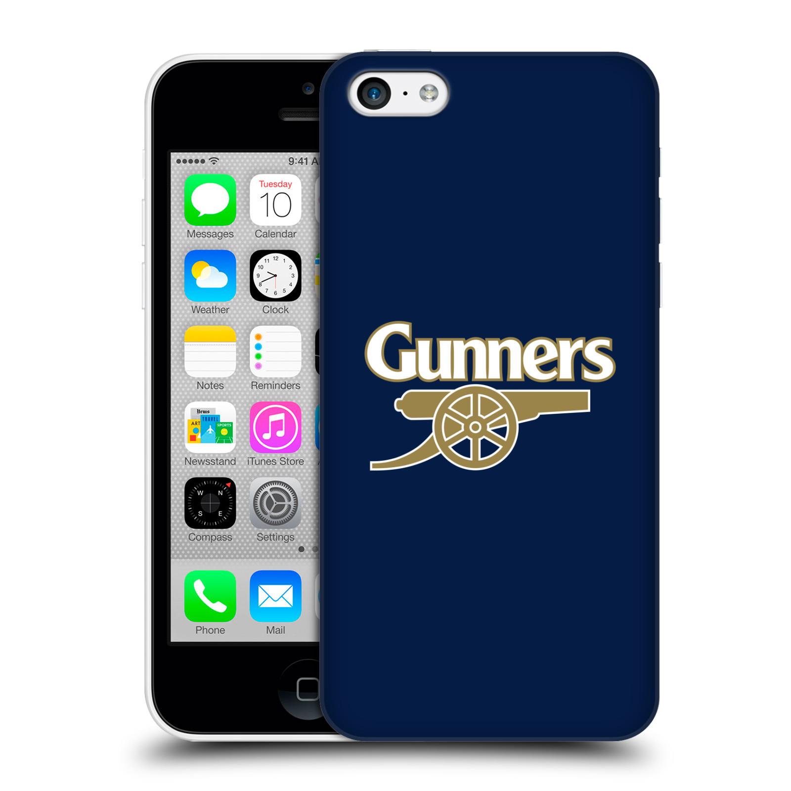 Plastové pouzdro na mobil Apple iPhone 5C - Head Case - Arsenal FC - Gunners