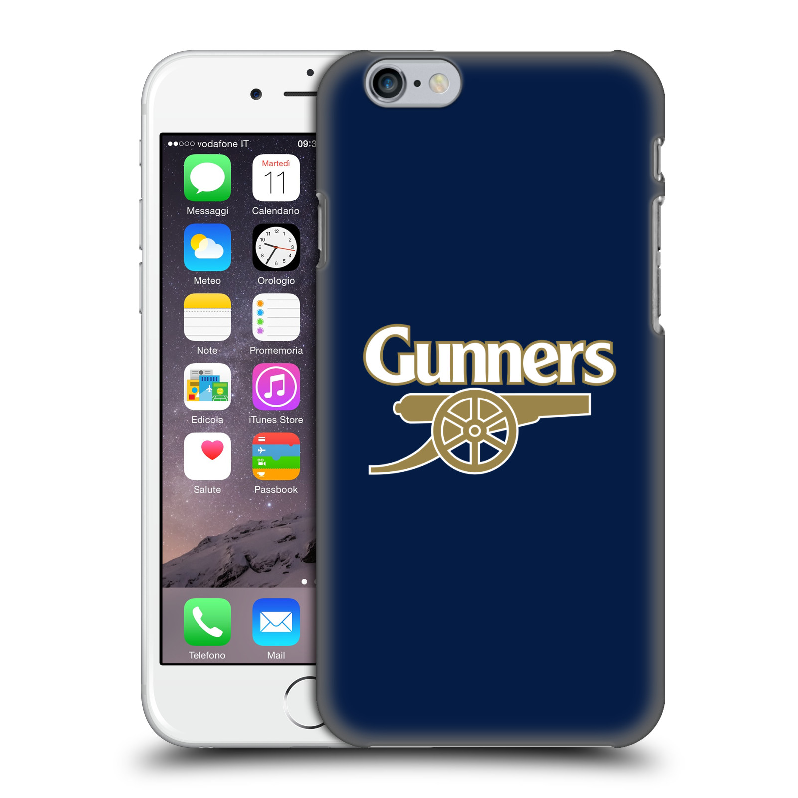 Plastové pouzdro na mobil Apple iPhone 6 - Head Case - Arsenal FC - Gunners