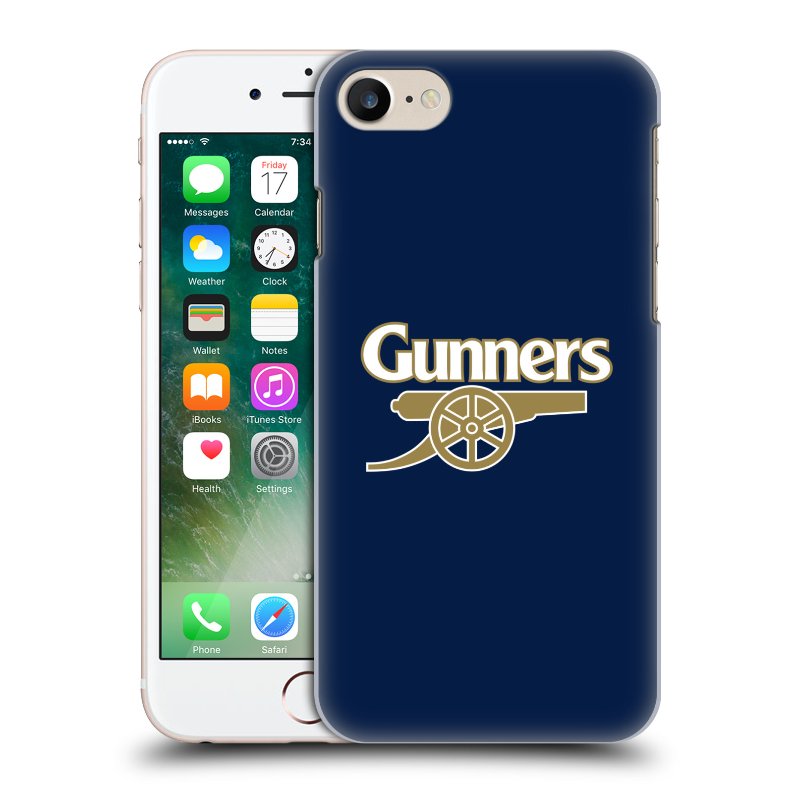 Plastové pouzdro na mobil Apple iPhone 7 - Head Case - Arsenal FC - Gunners