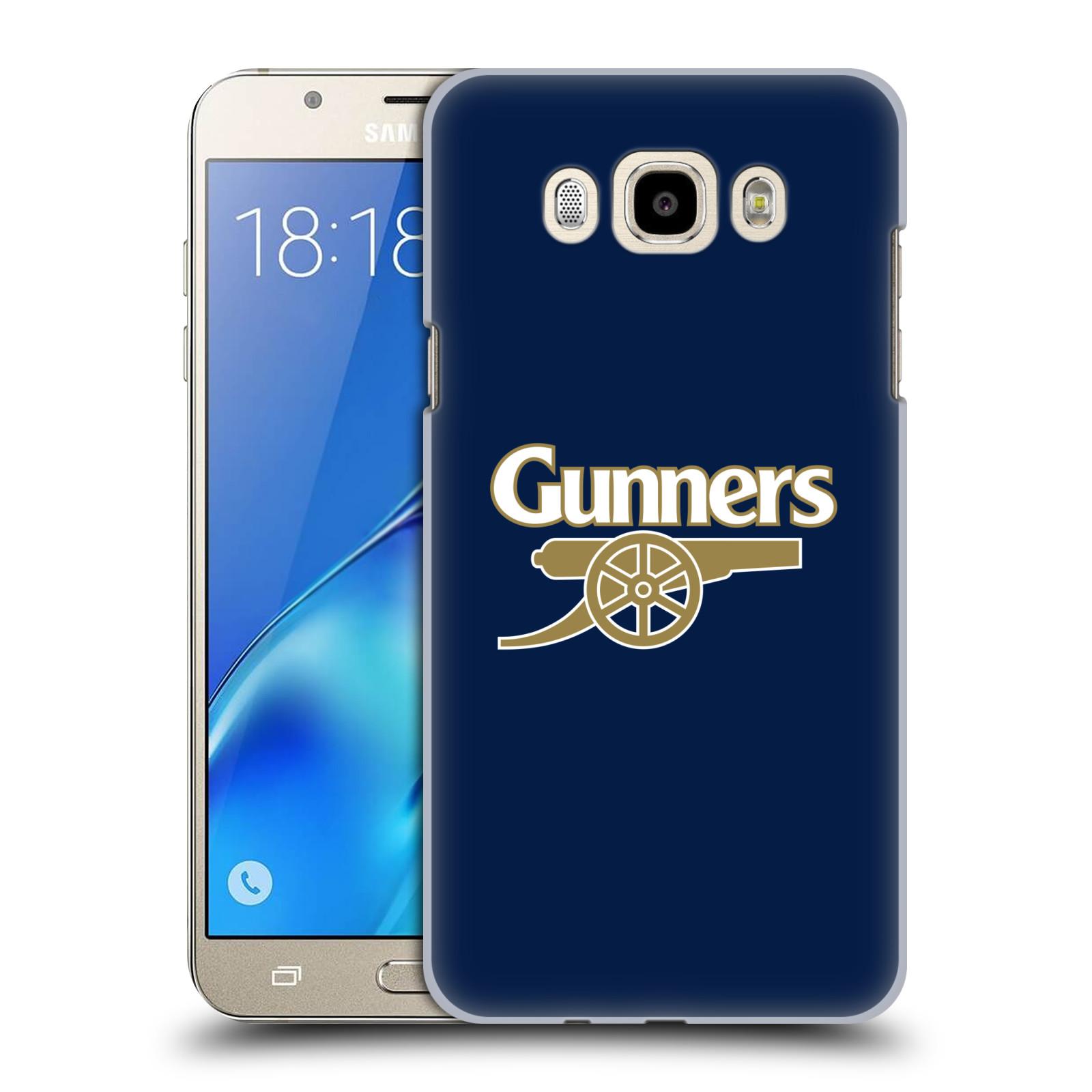 Plastové pouzdro na mobil Samsung Galaxy J7 (2016) - Head Case - Arsenal FC - Gunners