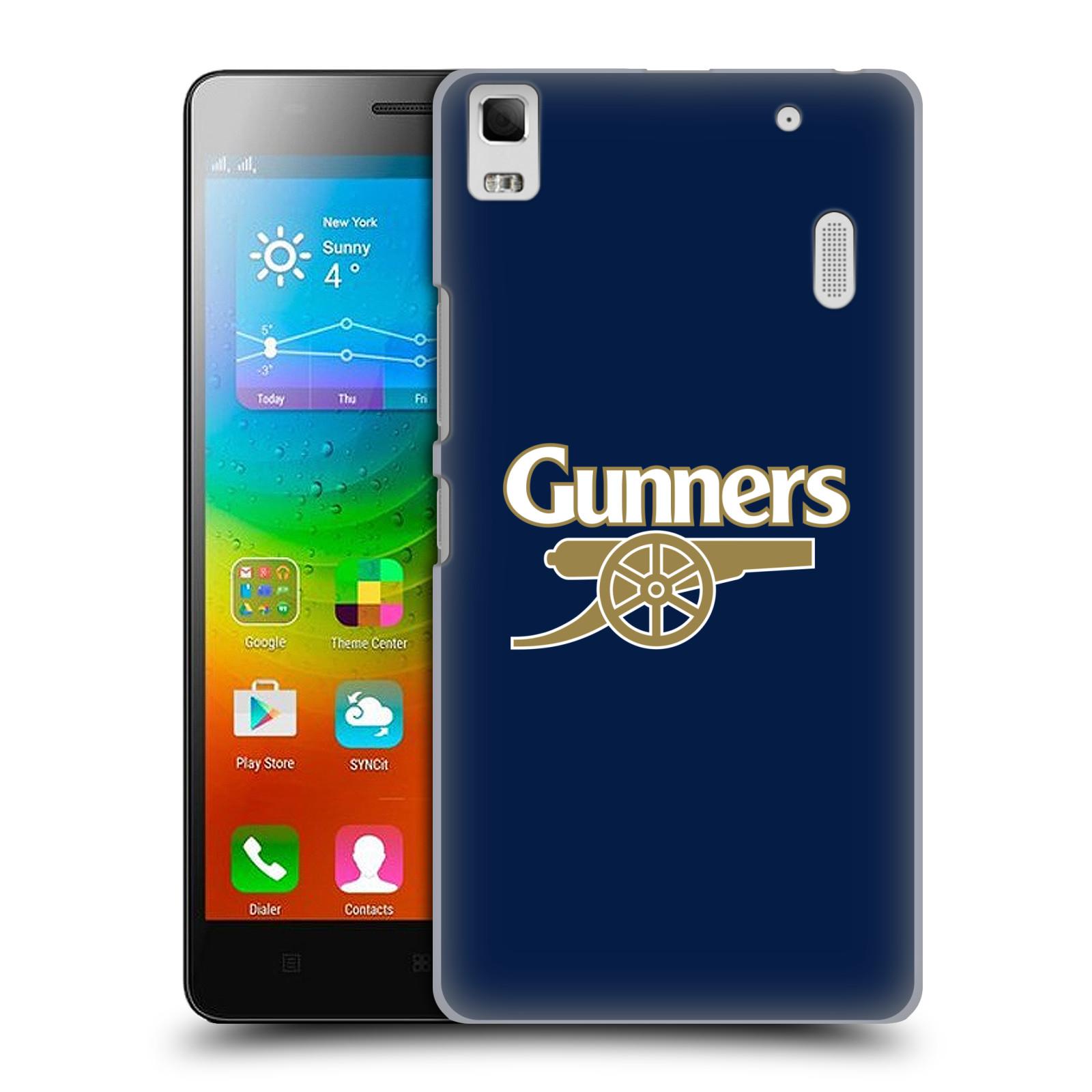 Plastové pouzdro na mobil Lenovo A7000 - Head Case - Arsenal FC - Gunners
