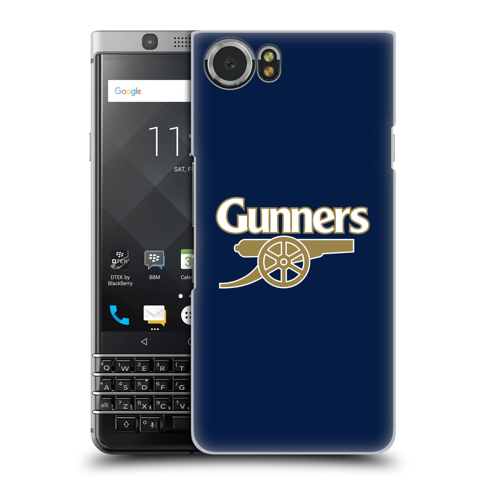 Plastové pouzdro na mobil BlackBerry KEYone - Head Case - Arsenal FC - Gunners
