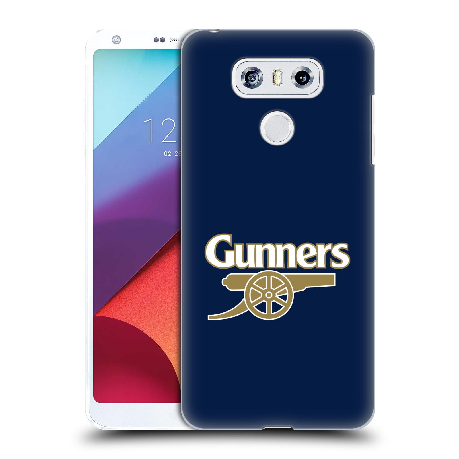 Plastové pouzdro na mobil LG G6 - Head Case - Arsenal FC - Gunners