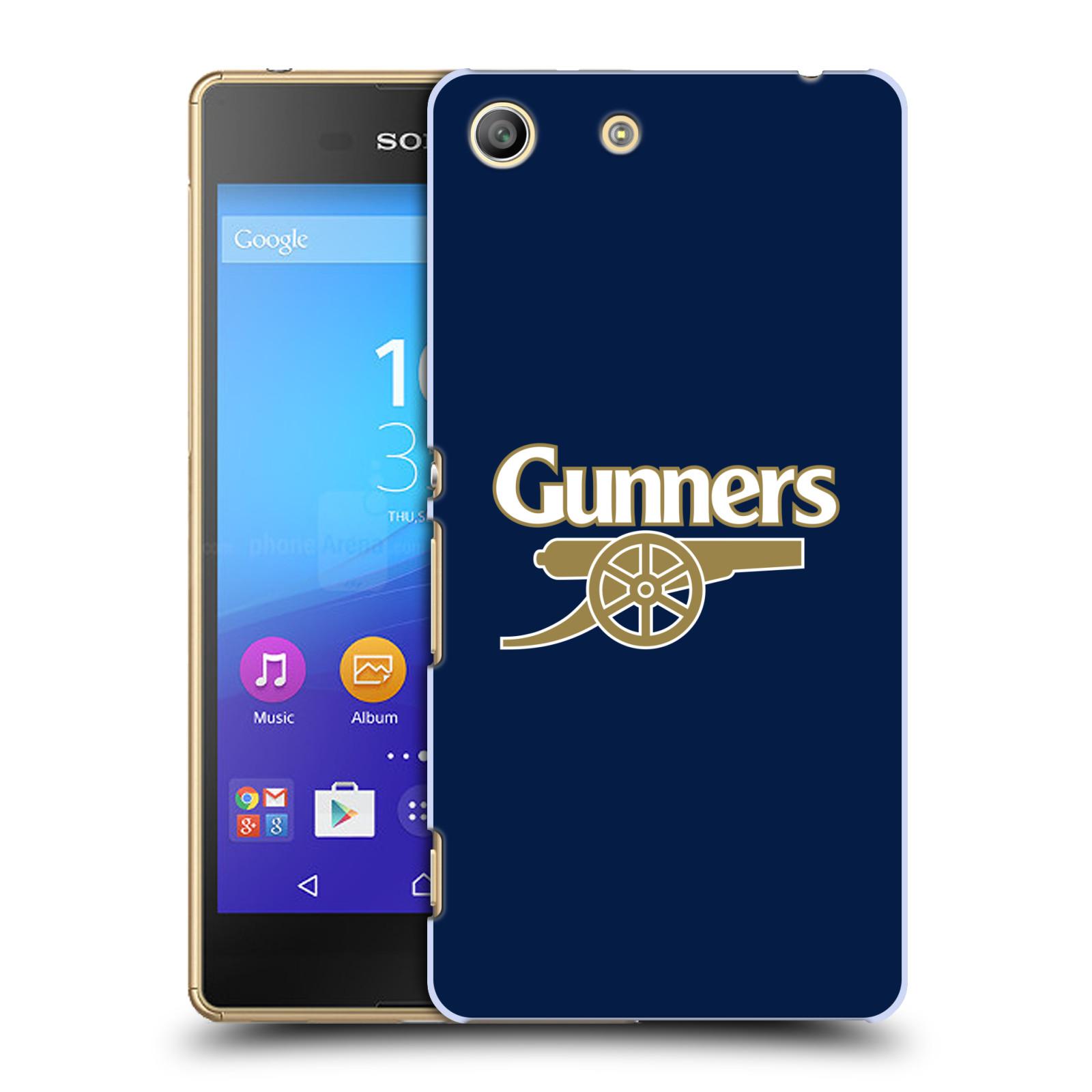 Plastové pouzdro na mobil Sony Xperia M5 - Head Case - Arsenal FC - Gunners