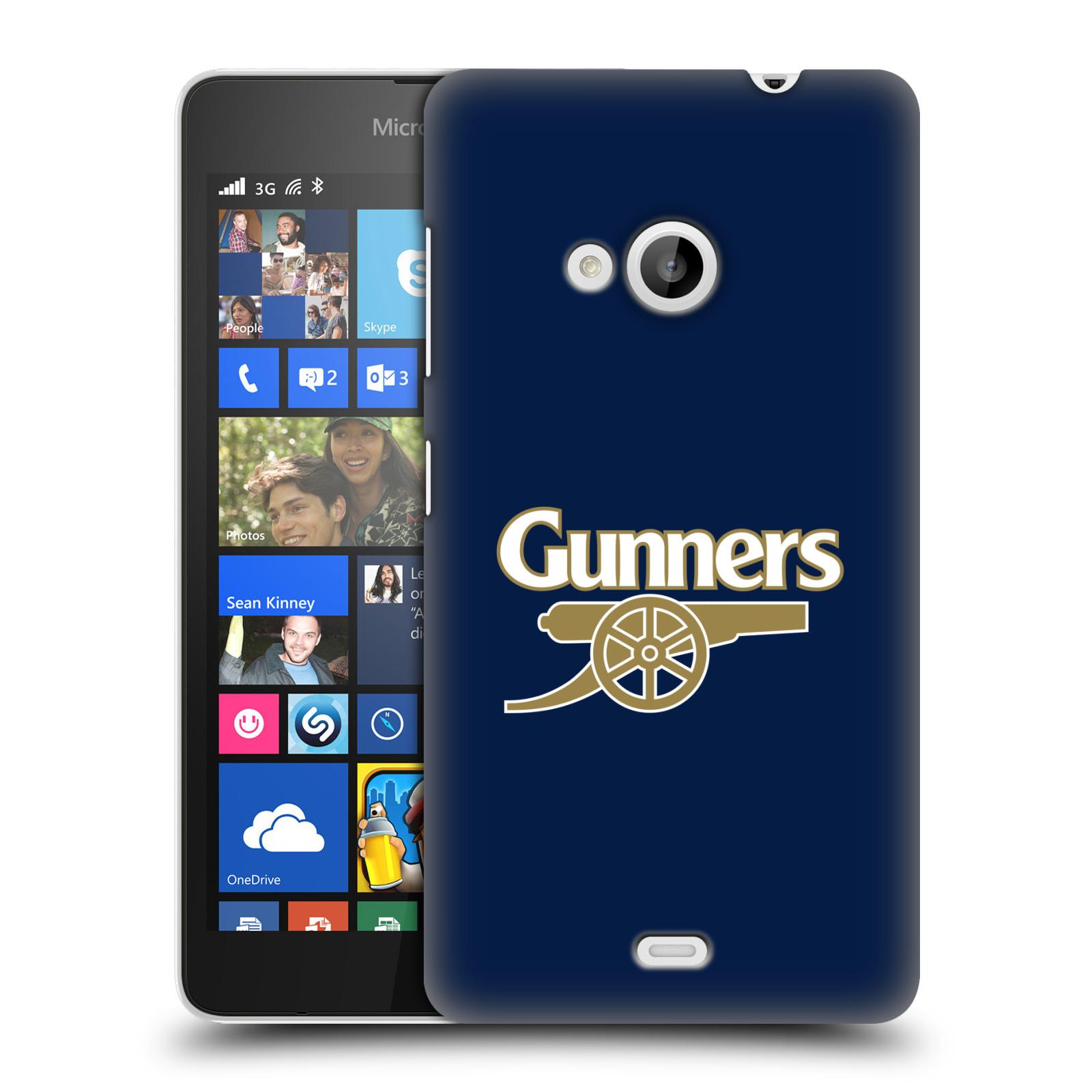 Plastové pouzdro na mobil Microsoft Lumia 535 - Head Case - Arsenal FC - Gunners